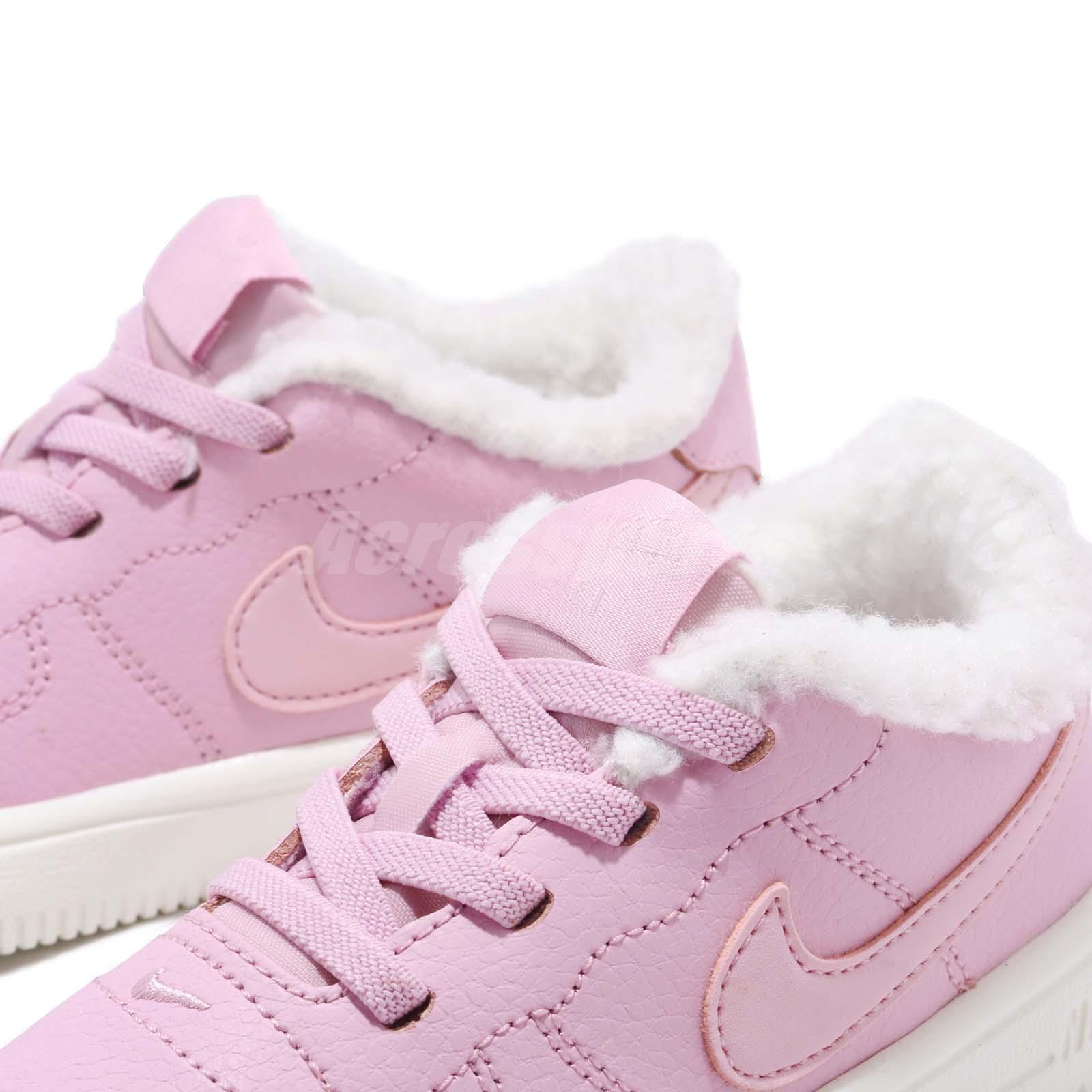 reputable site 504ac 84055 Nike Force 1 18 SE TD Light Arctic Pink Toddler Infant Baby Shoes ...