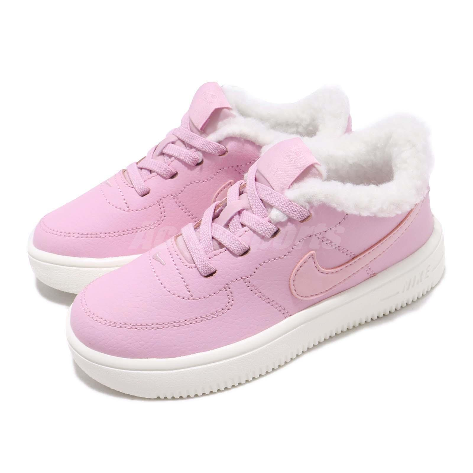 sports shoes 88b88 7a34d Details about Nike Force 1 18 SE TD Light Arctic Pink Toddler Infant Baby  Shoes AR1134-600