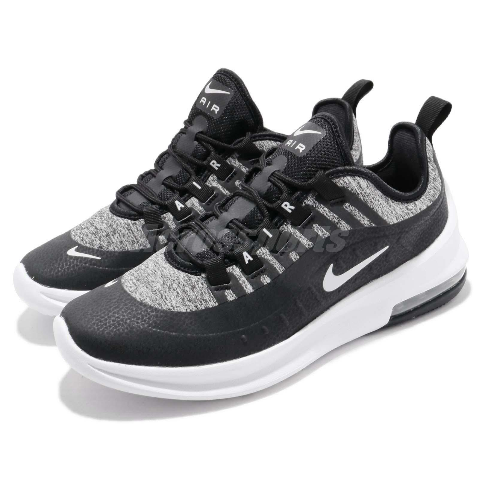 6989089ac299 Details about Nike Air Max Axis SE GS Black White Kid Youth Women Running  Shoes AR1664-001