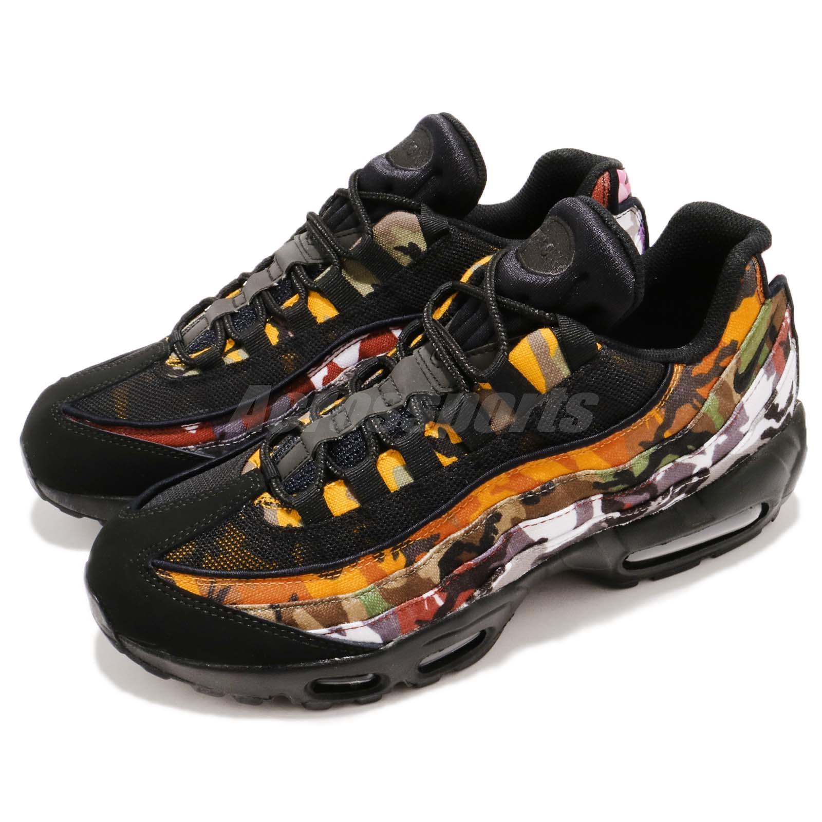 Details about Nike Air Max 95 ERDL Party Black Multi-Color Camo Print NSW  Men Shoes AR4473-001 6fec447d901