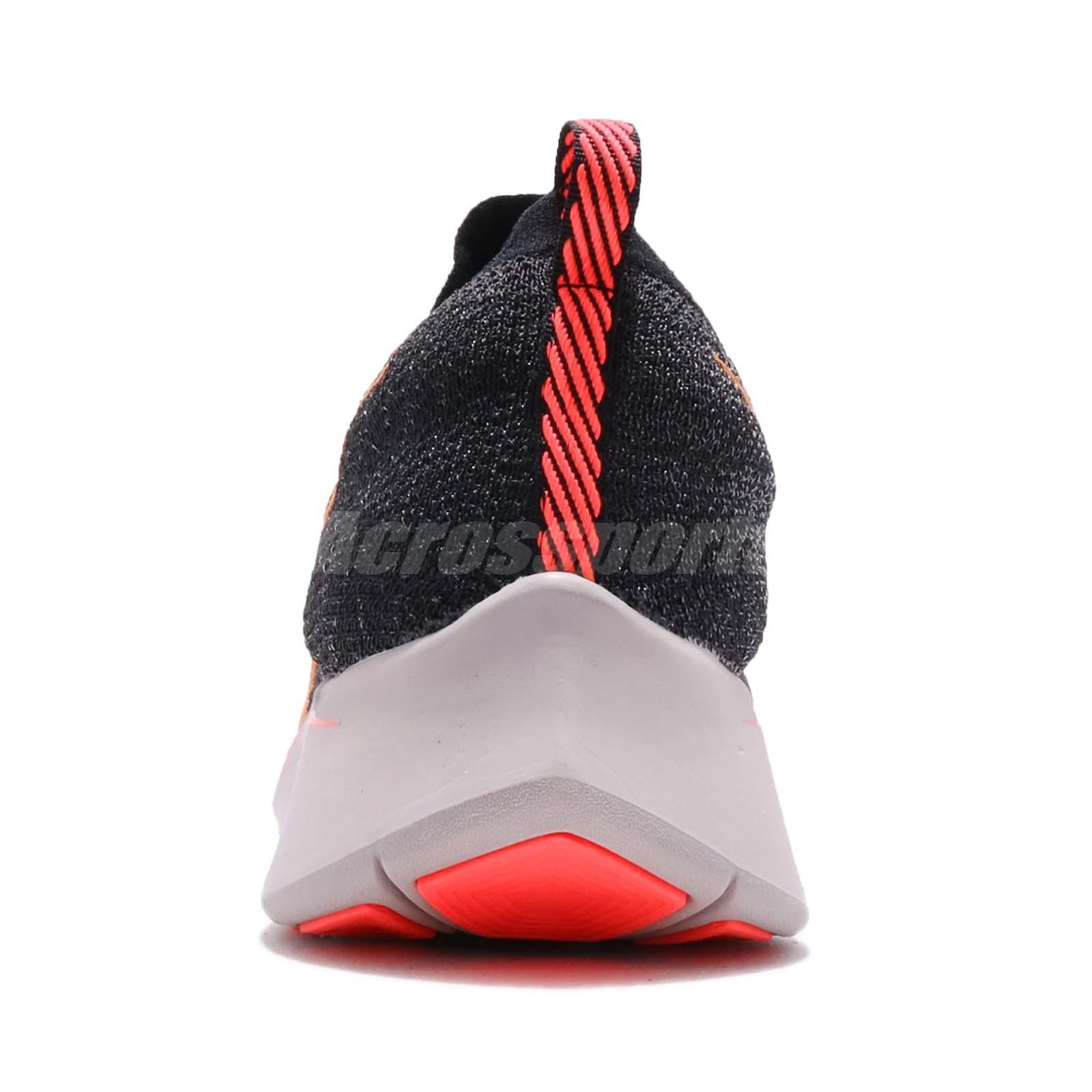 acb40daed4cf Nike Zoom Fly FK Flyknit Black Orange Peel Men Running Shoes ...