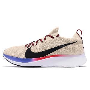08d871c9ff7b Nike Zoom Fly FK Flyknit Lightweight Mens Road Running Shoes Sock ...