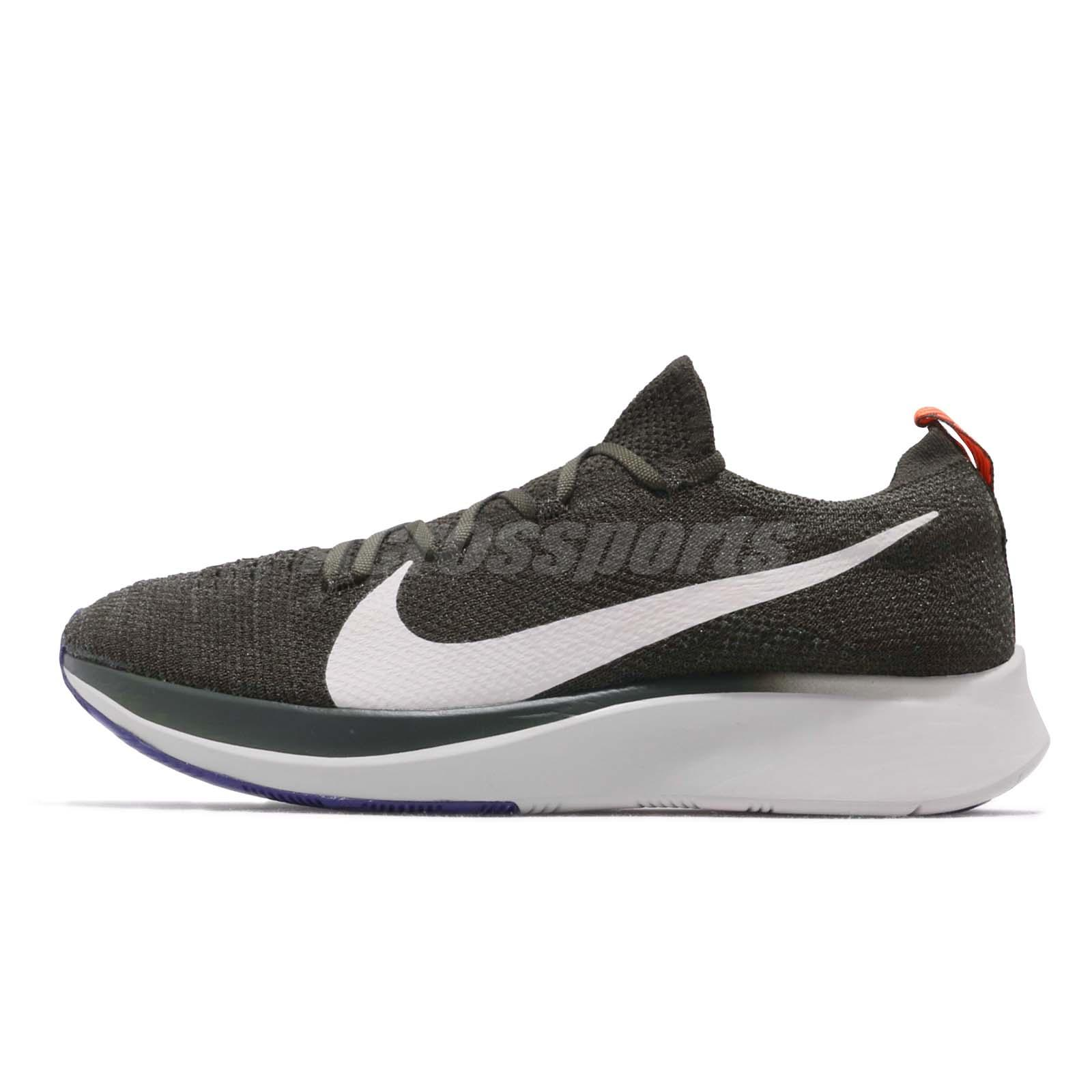 new arrivals 90b7c 1feb9 Nike Zoom Fly Flyknit Sequoia Summit White Men Running Shoes Sneakers  AR4561-303