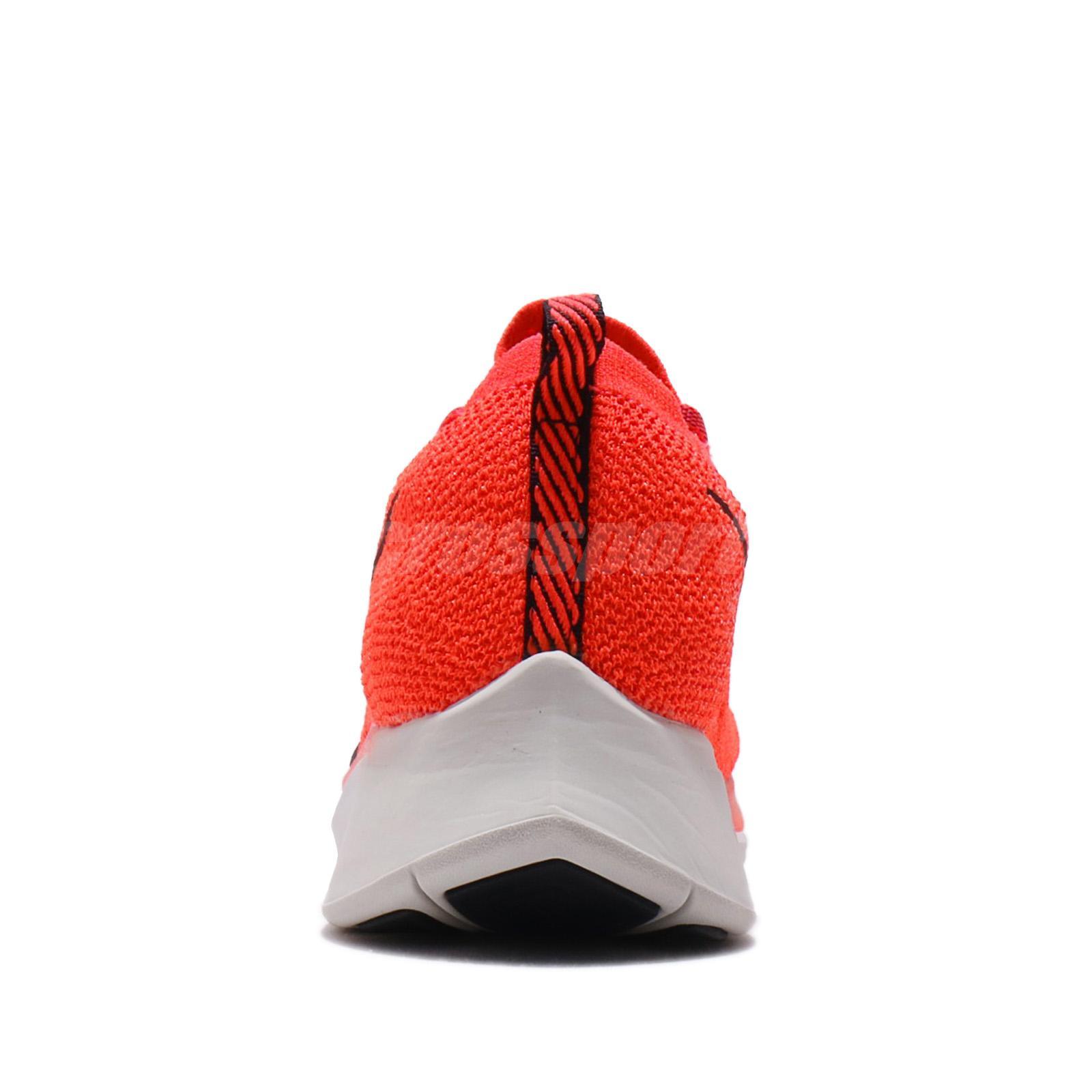 3372ab04c95e Nike Zoom Fly FK Flyknit Bright Crimson Black Men Running Shoes ...