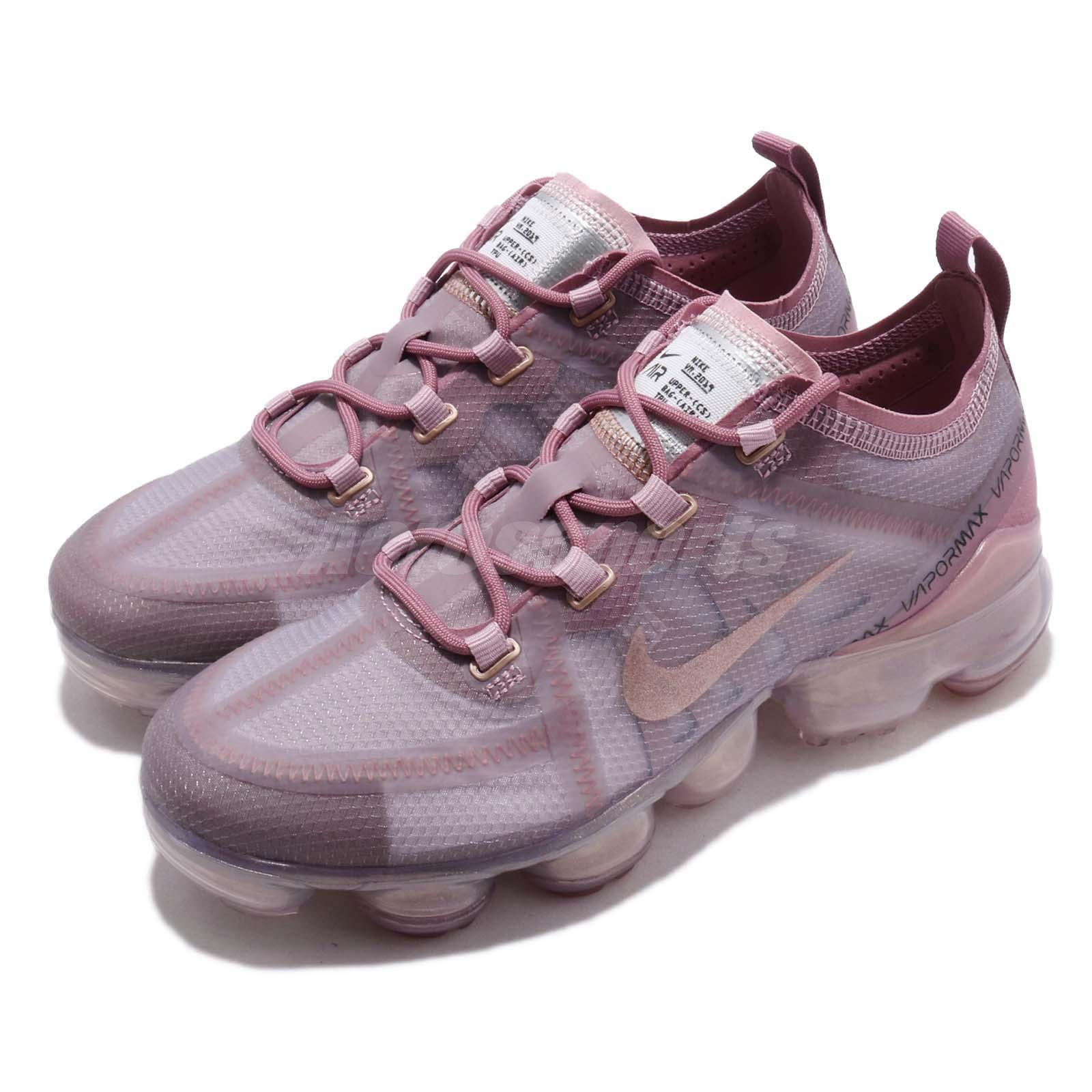 0086992c94bf8 Nike Wmns Air Vapormax 2019 Soft Pink Plum Chalk Dust Women Shoes ... nike