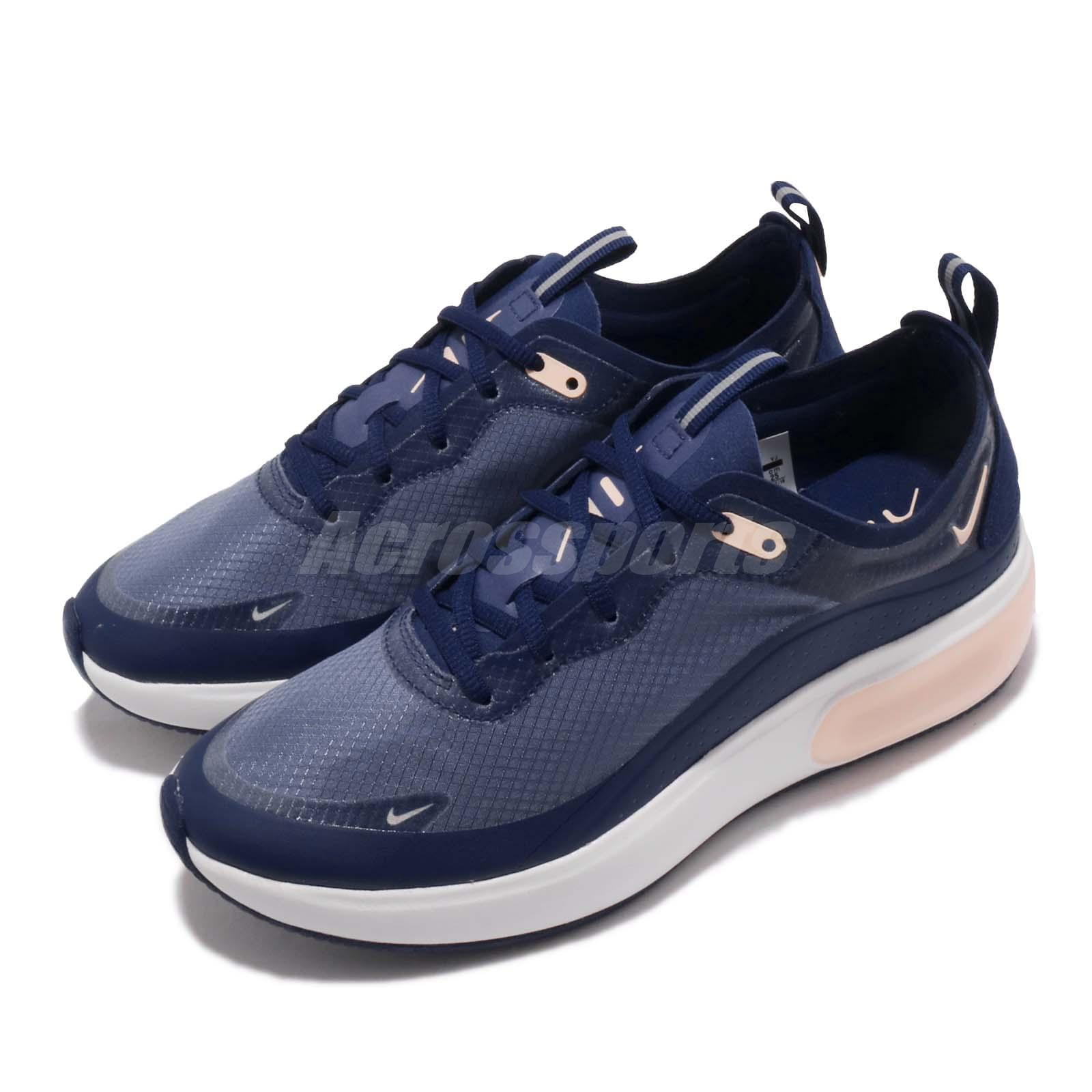 Detalles acerca de Nike Mujeres Air Max Dia se Tinte Azul anular carmesí Zapatillas de mujer AR7410 400 mostrar título original