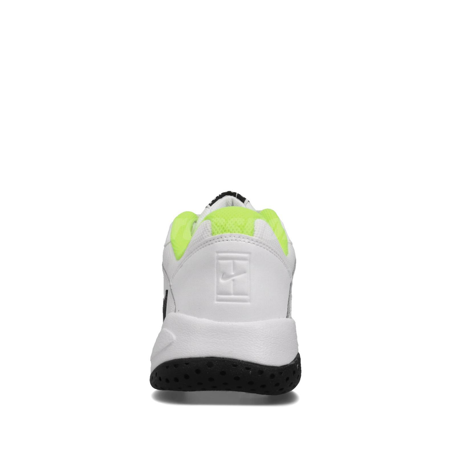 Nike Court Lite 2 White Black Volt Men Tennis Shoes Sneakers Trainers AR8836-107