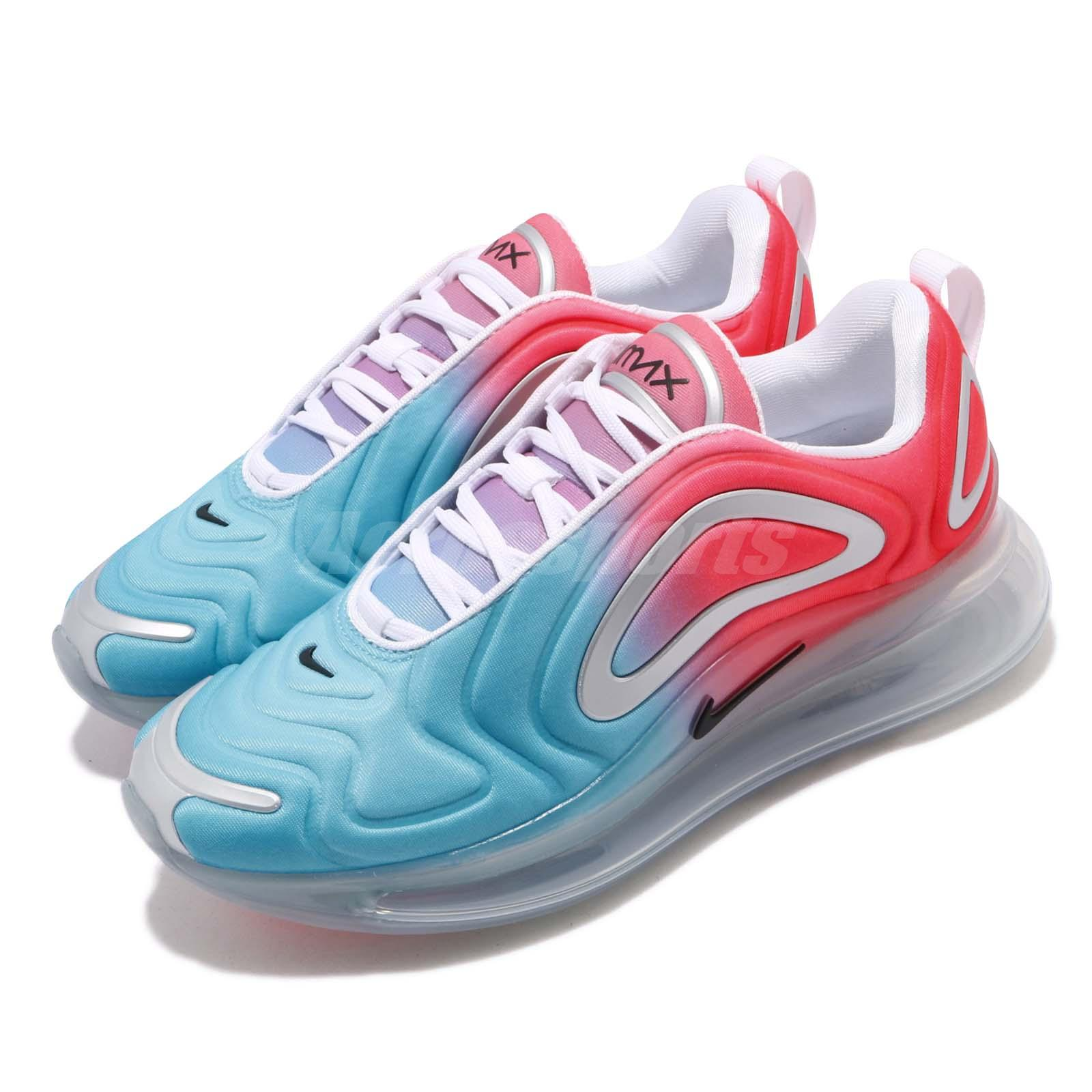 Details about Nike Wmns Air Max 720 Pink Sea Blue Women Running Shoes Sneakers AR9293 600