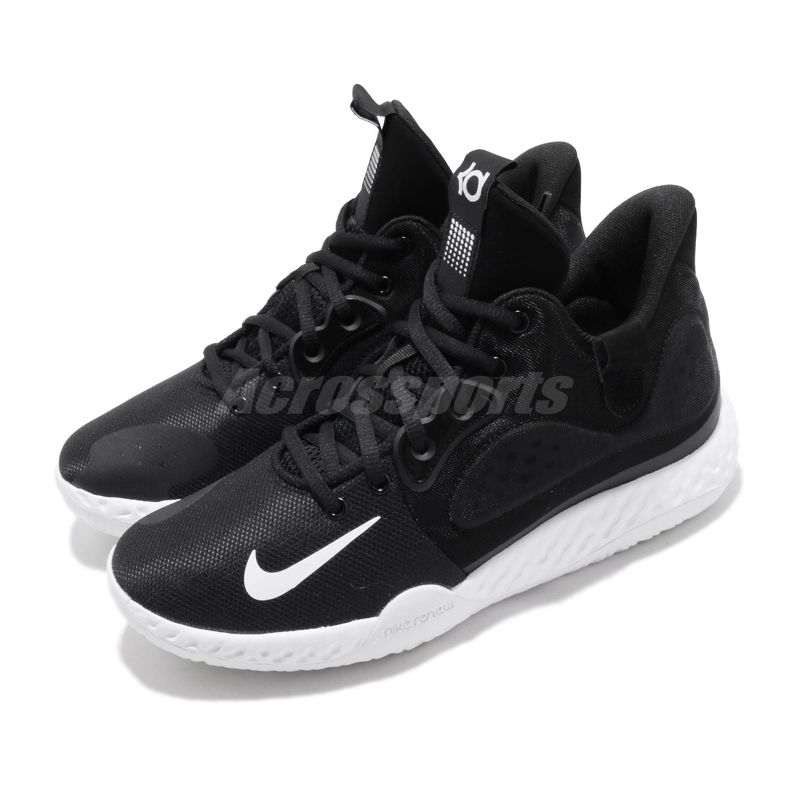 262ab4bc Details about Nike KD Trey 5 VII EP 7 Kevin Durant Black White Men  Basketball Shoes AT1198-001