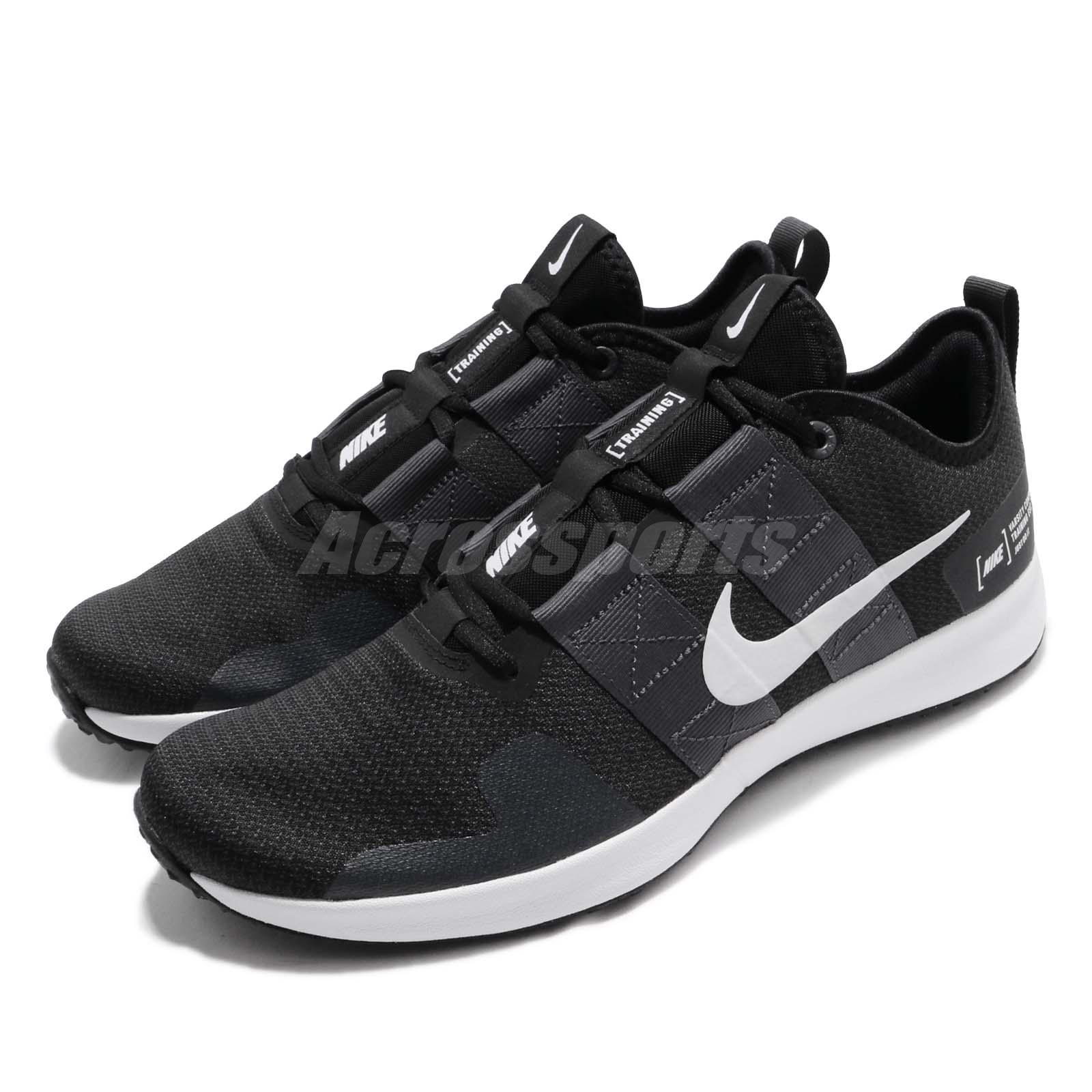 855799d5994ac Details about Nike Varsity Compete TR 2 Black White Men Cross Training Shoe  Sneaker AT1239-003