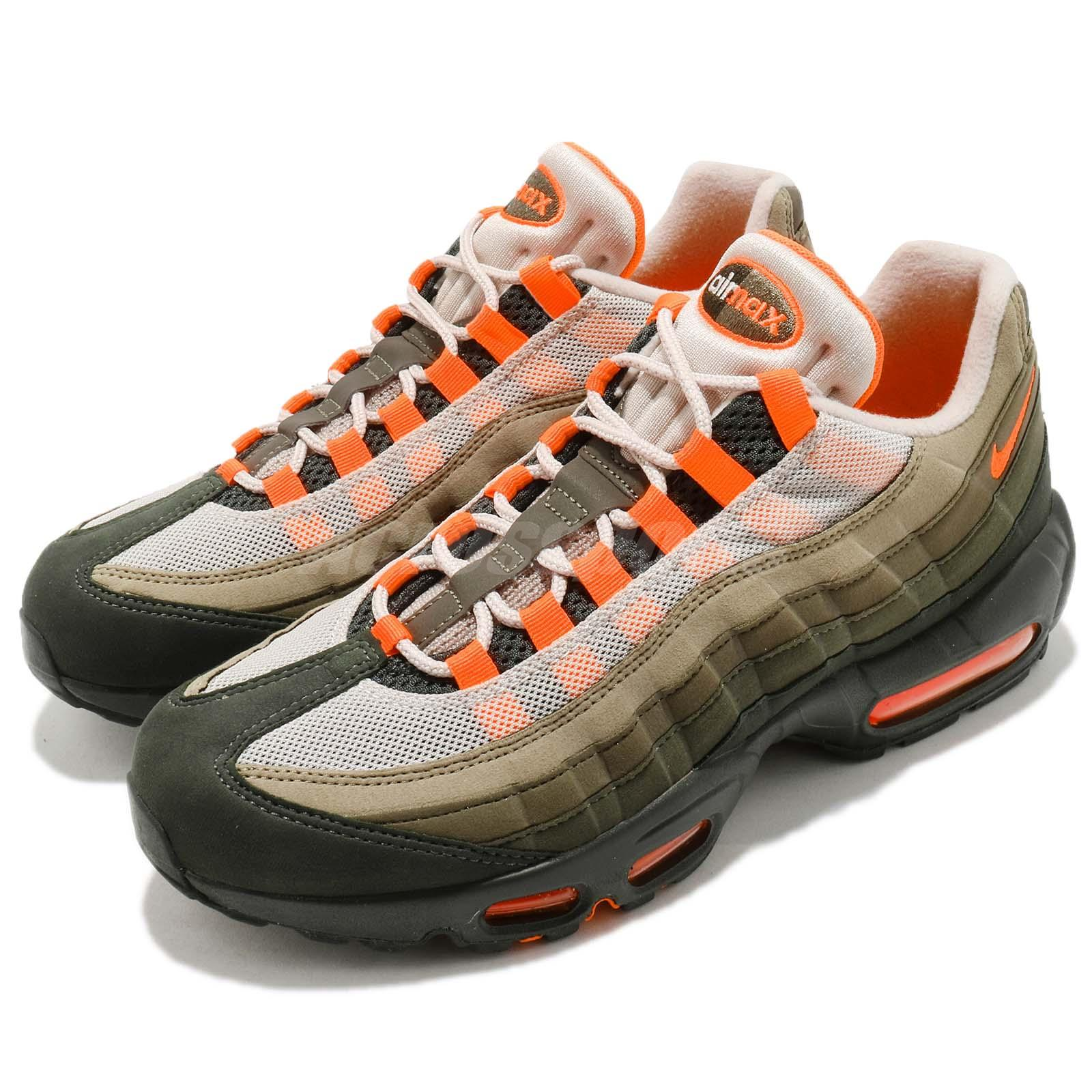 370a29470d78 Details about Nike Air Max 95 OG String Green Total Orange Neutral Olive NSW  Shoes AT2865-200
