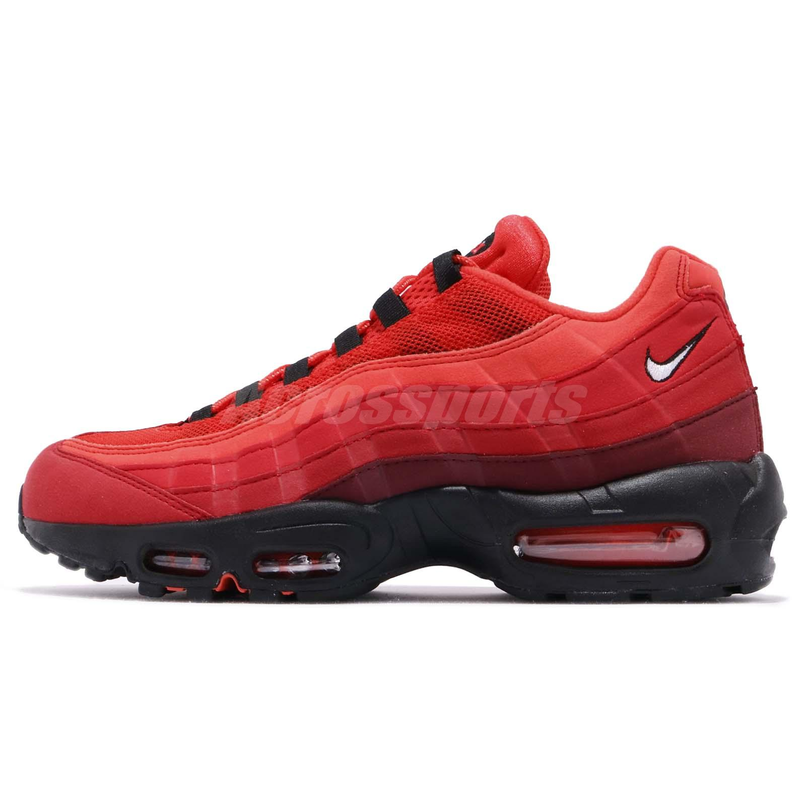 first rate 0b0b6 d0246 Nike Air Max 95 OG Habanero Red Men Running Lifestyle Shoes Sneakers AT2865- 600