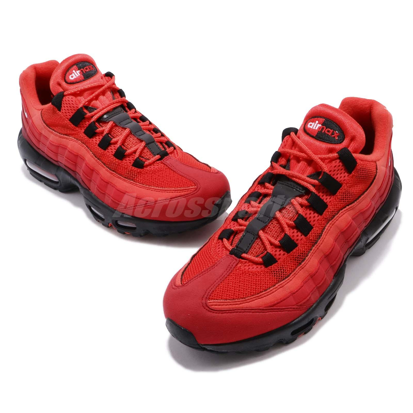 on sale fe94d b9ca8 Nike Air Max 95 OG Habanero Red Men Running Lifestyle Shoes Sneakers ...