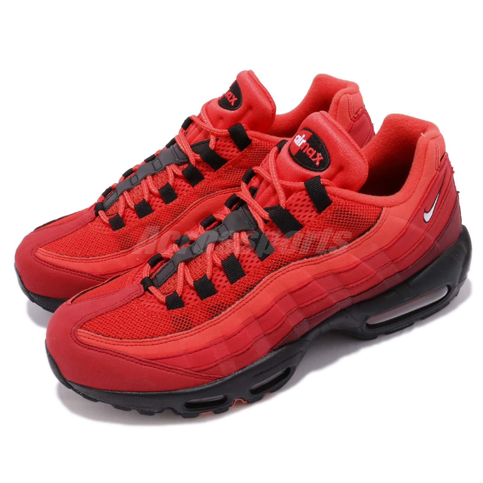 competitive price 9cf0f bcd58 Details about Nike Air Max 95 OG Habanero Red Men Running Lifestyle Shoes  Sneakers AT2865-600