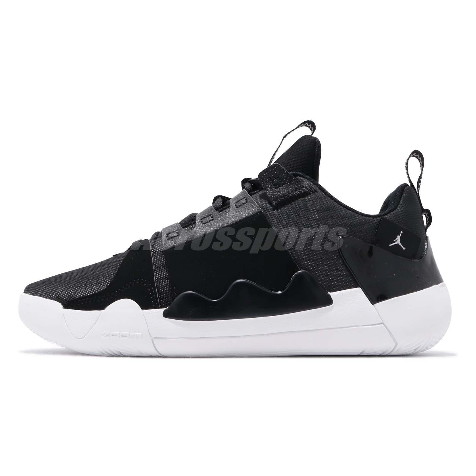 2d7590031e5 Nike Jordan Zoom Zero Gravity PF Black White Mens Basketball Shoes  AT4030-001