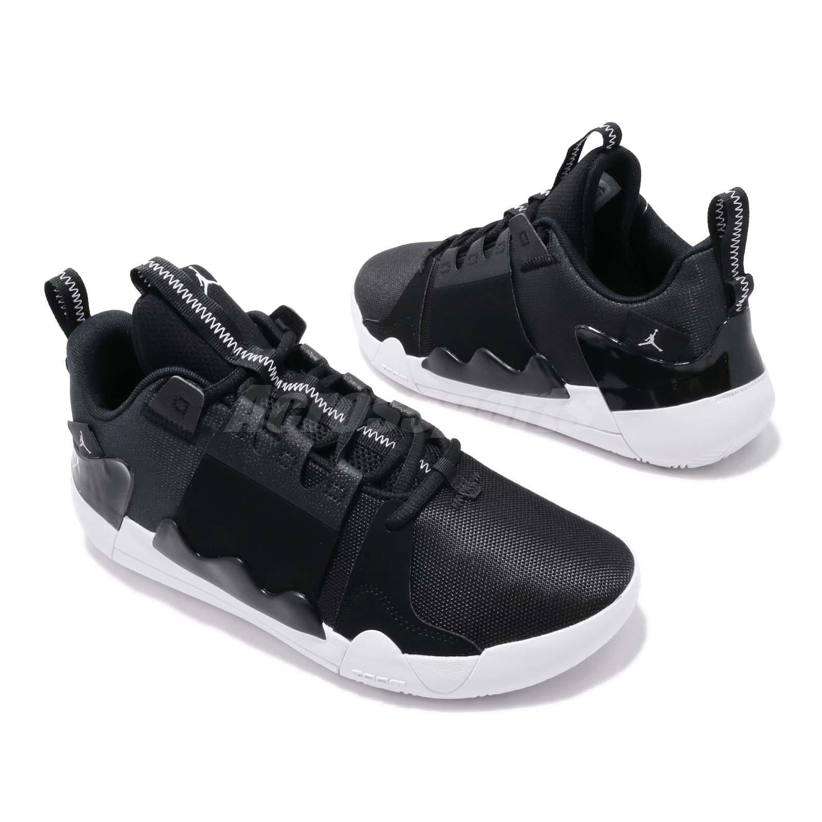 6b6a3302060 Nike Jordan Zoom Zero Gravity PF Black White Mens Basketball Shoes ...