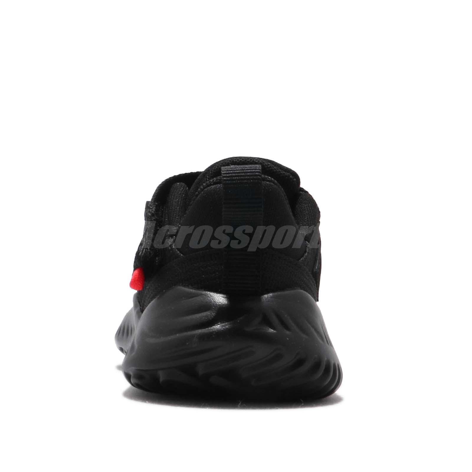 346ef5cd3598 Nike Jordan Proto 23 TD Black Red White Toddler Infant Baby Shoes ...