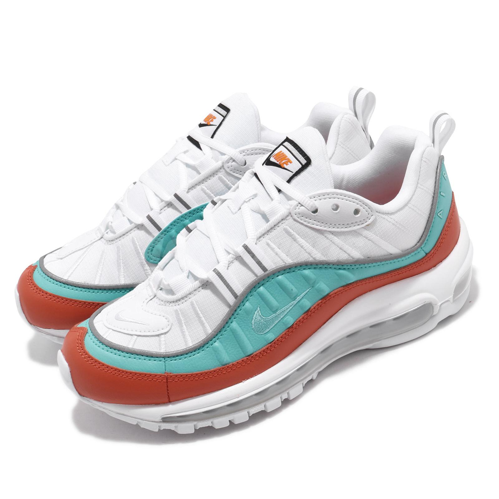 Air Max 98 Se Sneaker in Cosmic Clay Light Aqua White
