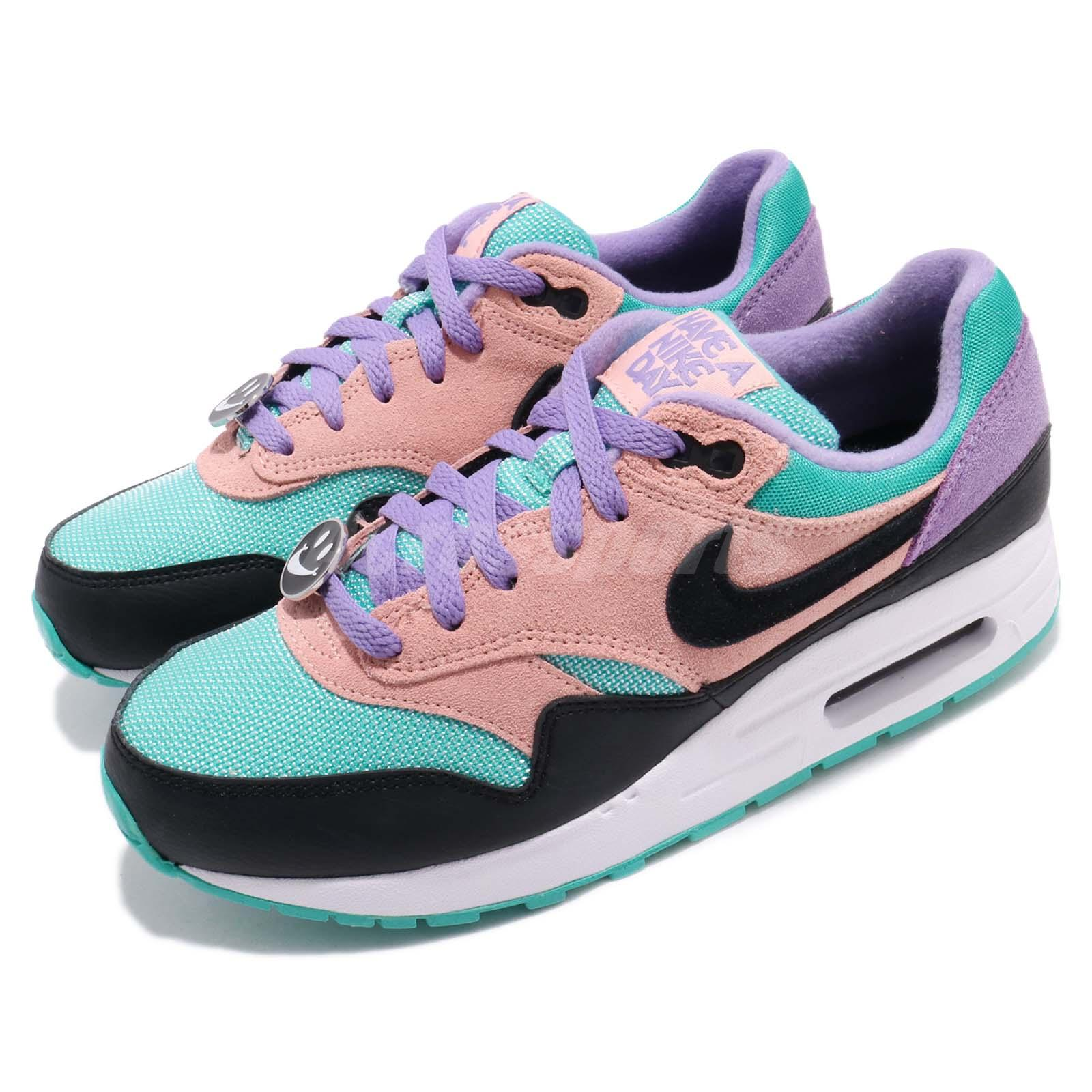 Muelle del puente taquigrafía Inspector  Nike Air Max 1 GS NK Have A Nike Day Kid Youth Women Shoes Sneakers  AT8131-001   eBay