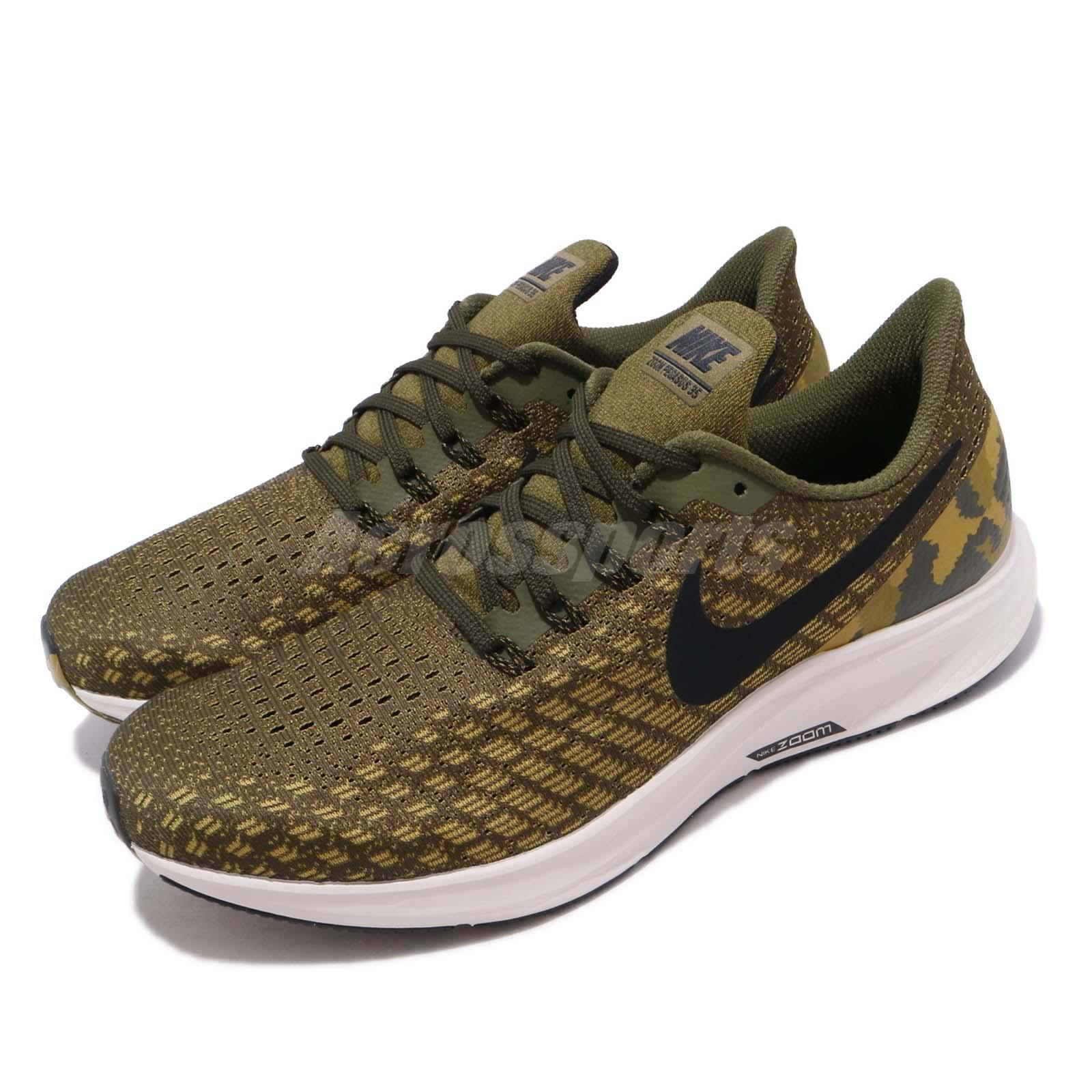 Details about Nike Air Zoom Pegasus 35 GPX Olive Canvas Camo Men Running Shoes AT9974 301