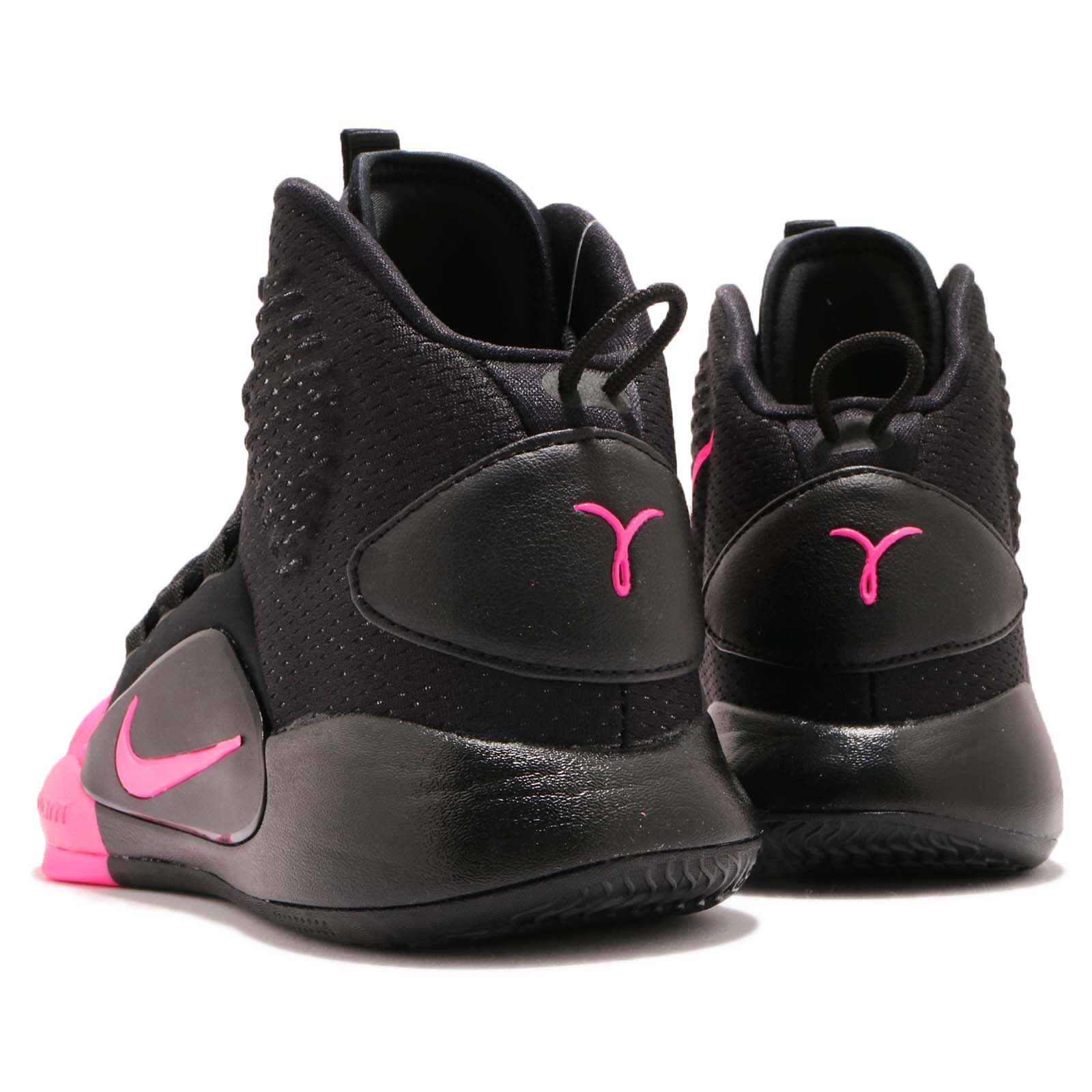 59994ac0426 Nike Hyperdunk X Kay Yow EP 10 Black Pink Men Basketball Shoe ...