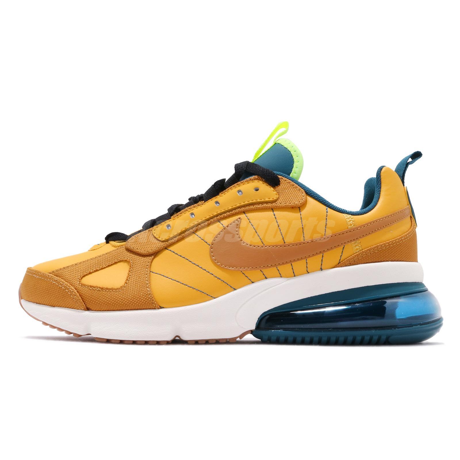 Details about Nike Air Max 270 Futura SE Yellow Ochre Desert Men Running Shoes AV2151 700