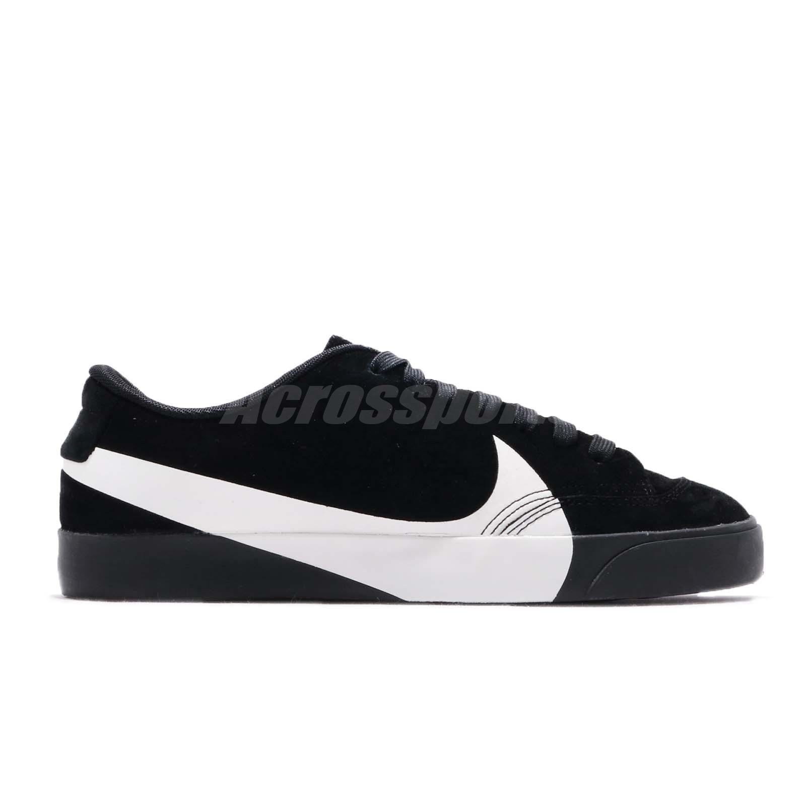 hot sale online c4990 62103 Details about Nike Wmns Blazer City Low LX Big Logo Swoosh Black White  Women Shoes AV2253-001