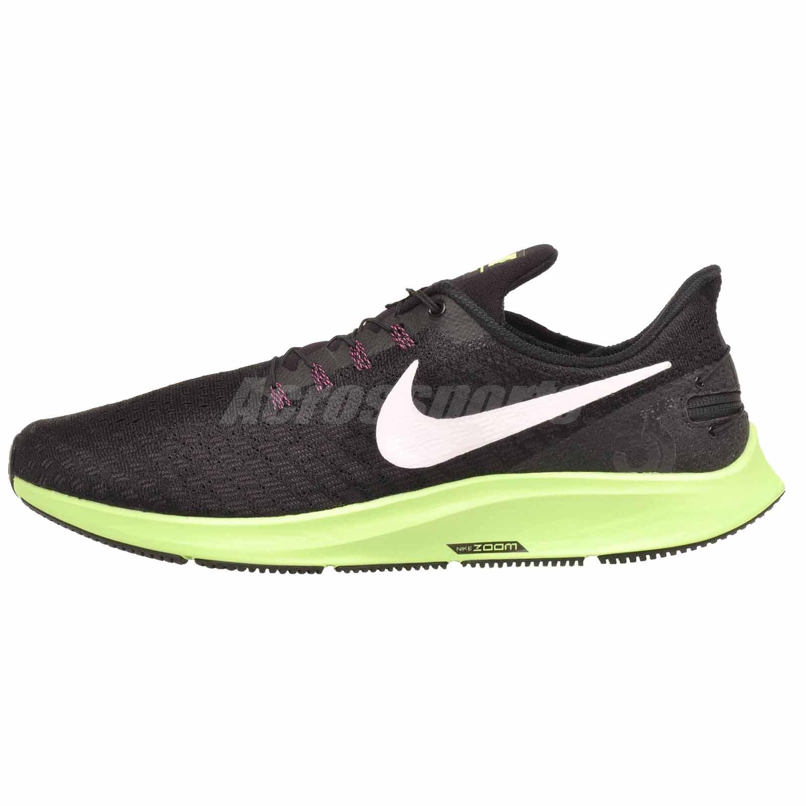 more photos f8d3f 7155f Details about Nike Air Zoom Pegasus 35 Flyease Running Mens Shoes NWOB  Black AV2312-016