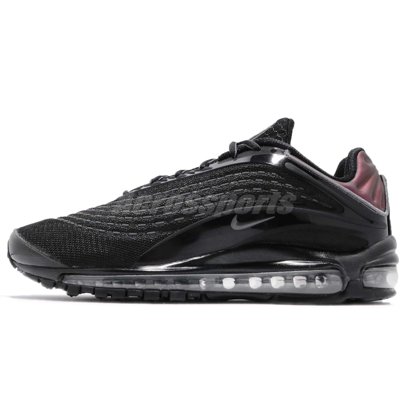 51930133cc Nike Air Max Deluxe Black Bronze Grey Men Running Shoes Sneakers AV2589-001