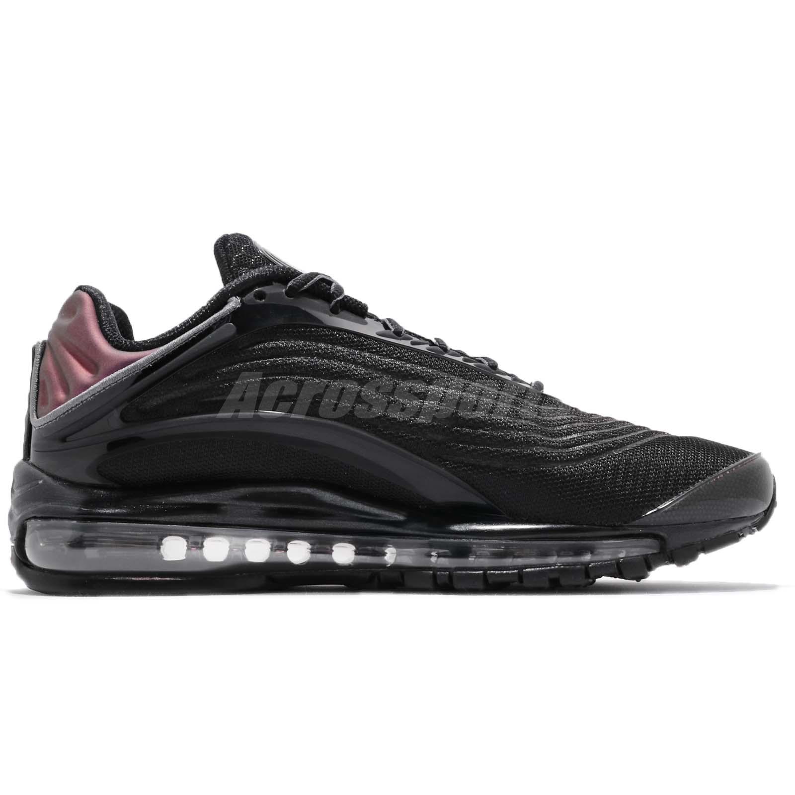 237143b4f1 Nike Air Max Deluxe Black Bronze Grey Men Running Shoes Sneakers ...