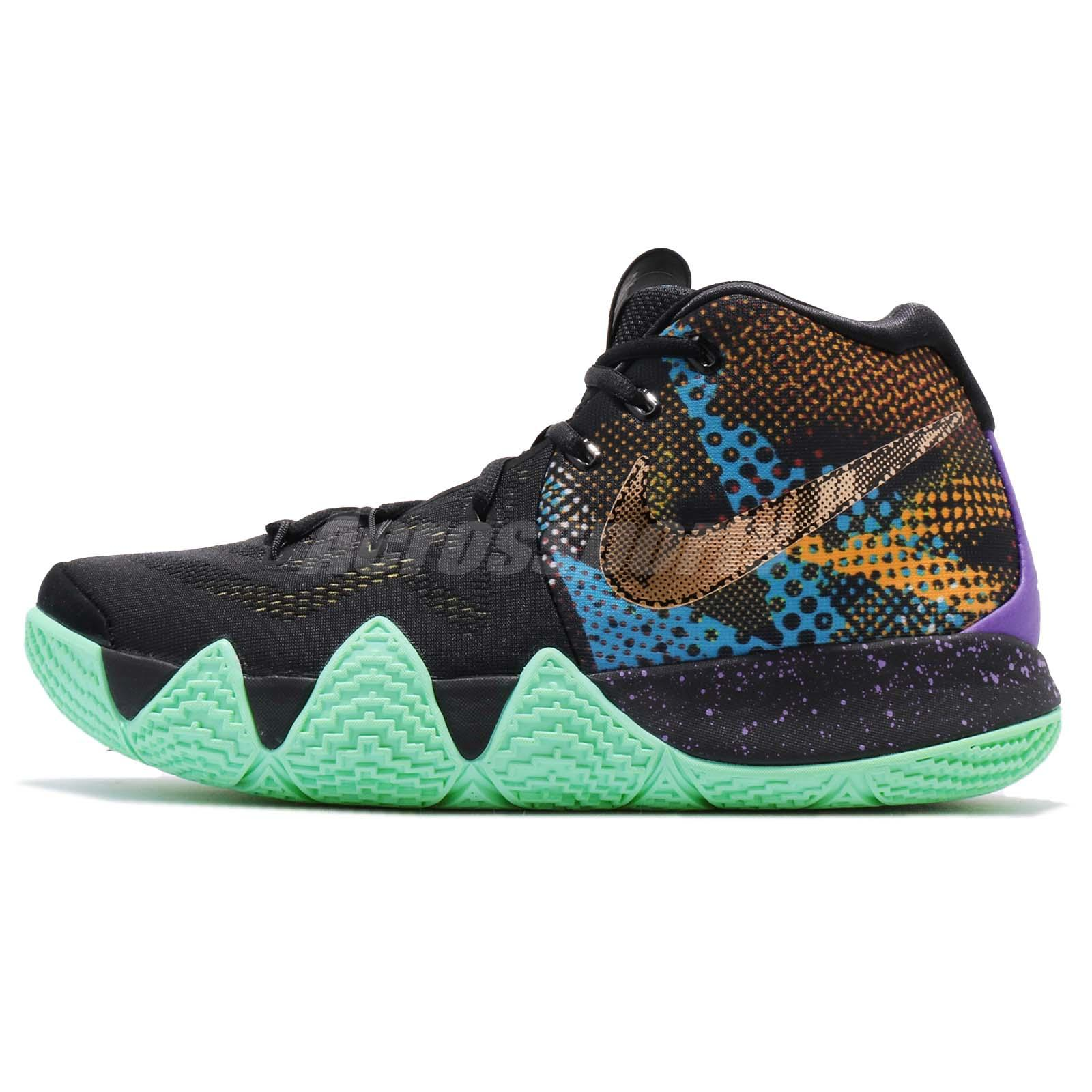 Nike Kyrie 4 Mamba EP [AV2594-001] Men Basketball Shoes Black/Sonic Yellow