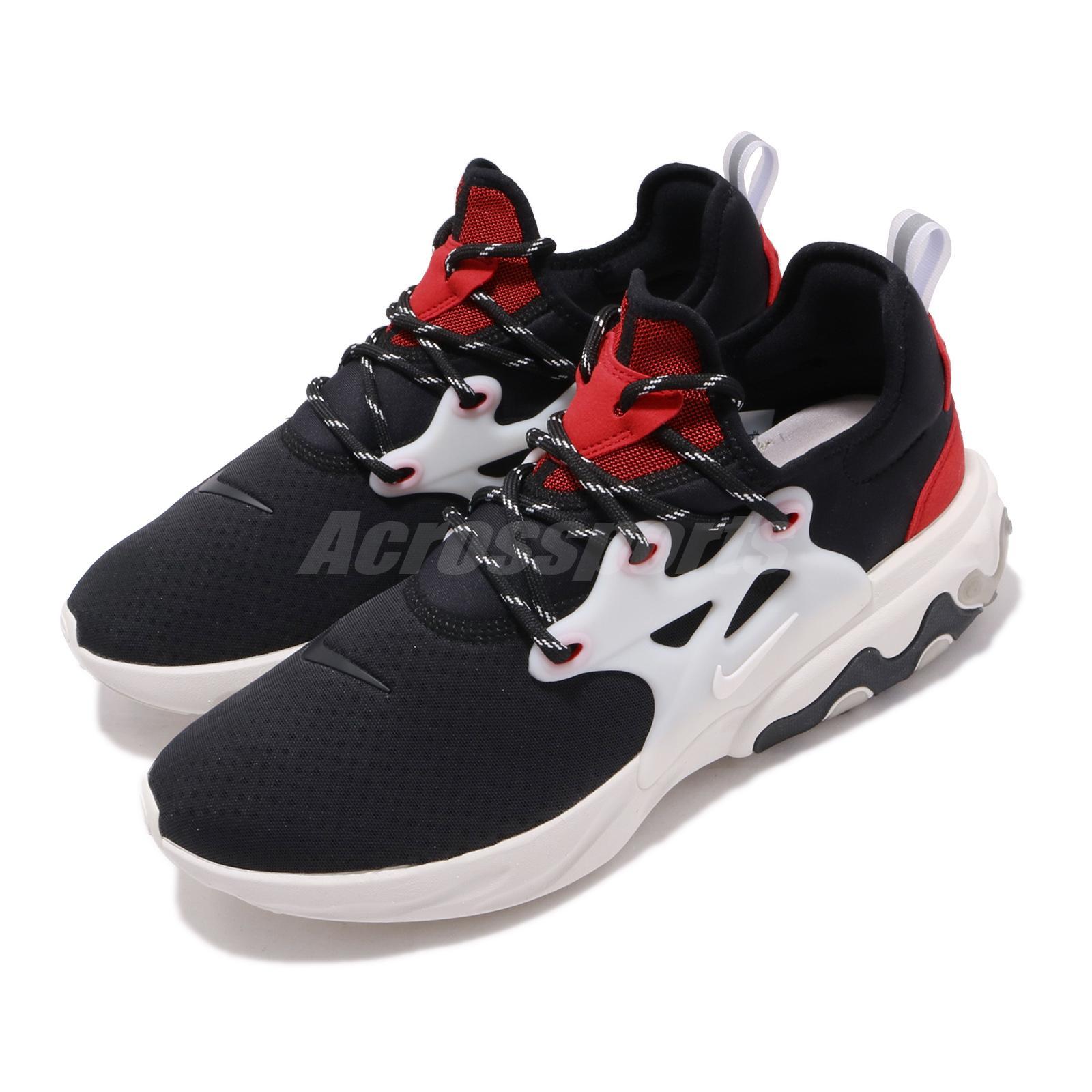Nike React Presto Black Phantom Red Men