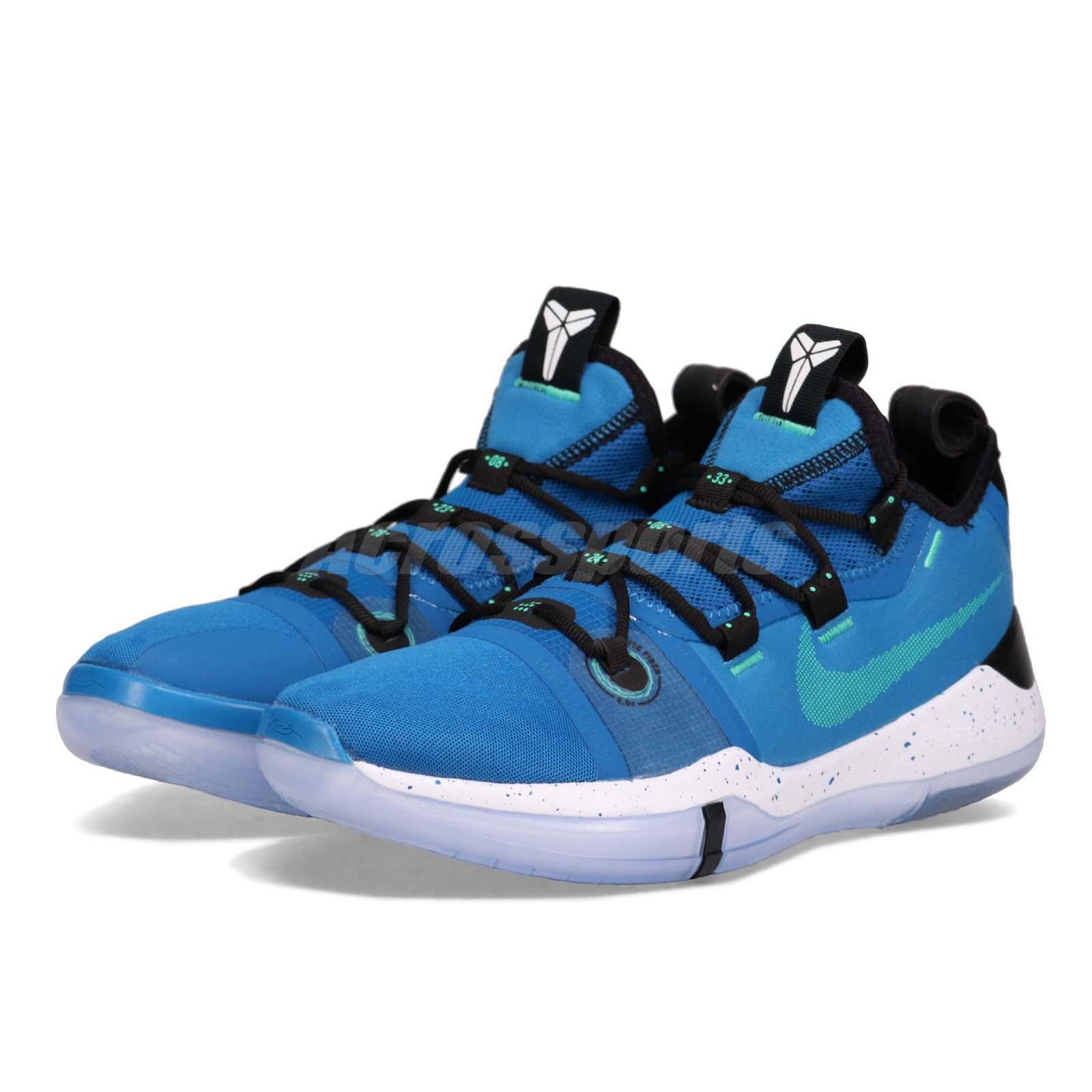 online store f9c7e 2b608 Details about Nike Kobe AD EP Bryant Military Blue Black White Men  Basketball Shoes AV3556-400