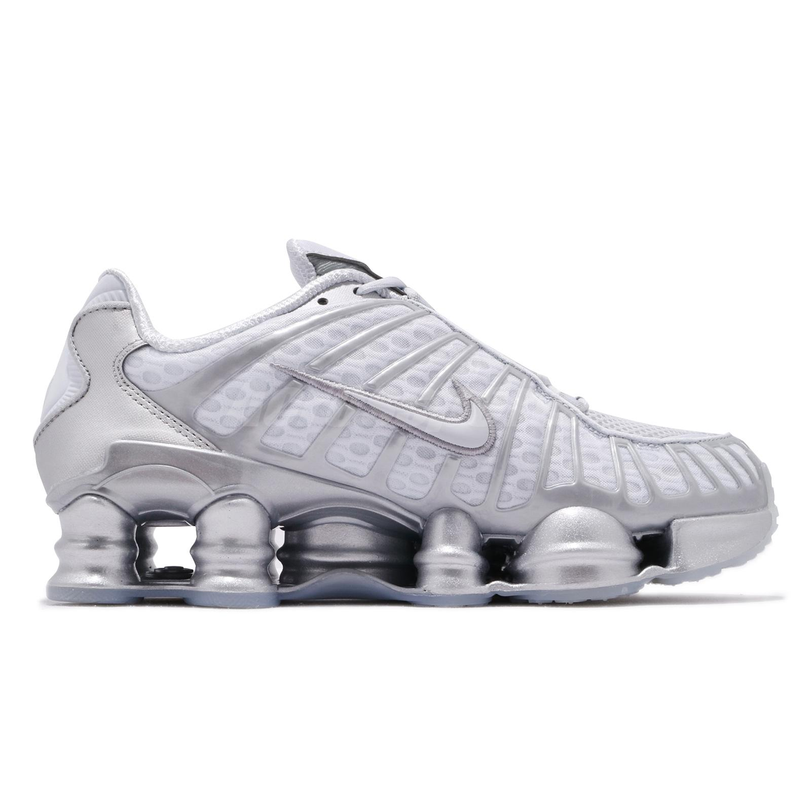 top quality hot new products cozy fresh Details about Nike Nike Shox TL Total Pure Platinum Chrome Mens Running  Shoes AV3595-003