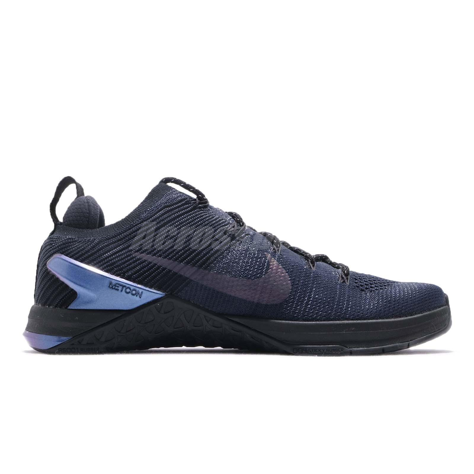 203fbd4a4076 Nike Metcon DSX Flyknit 2 AMP FK College Navy Blue Training Shoes ...