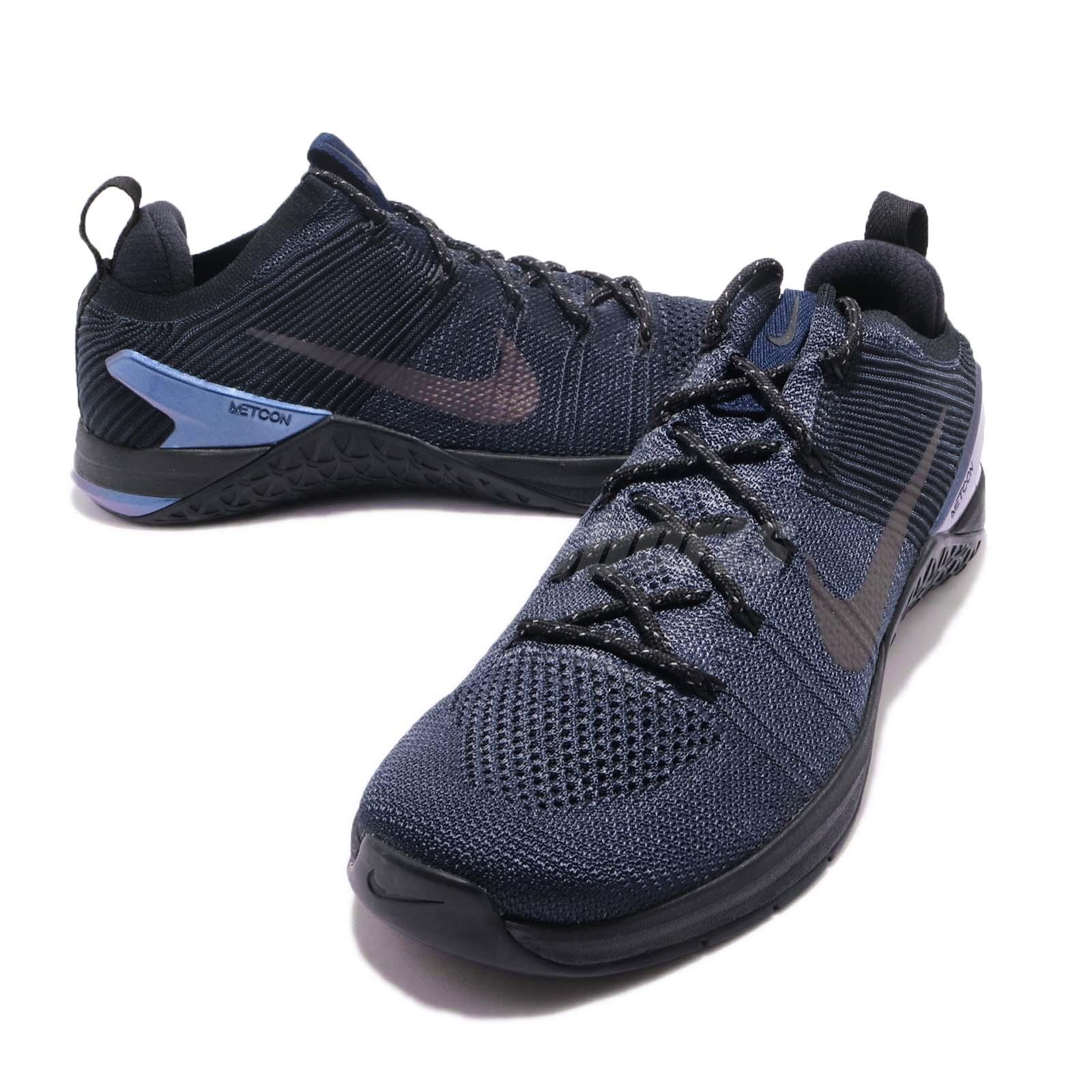 42d9fd70c57 Nike Metcon DSX Flyknit 2 AMP FK College Navy Blue Training Shoes ...
