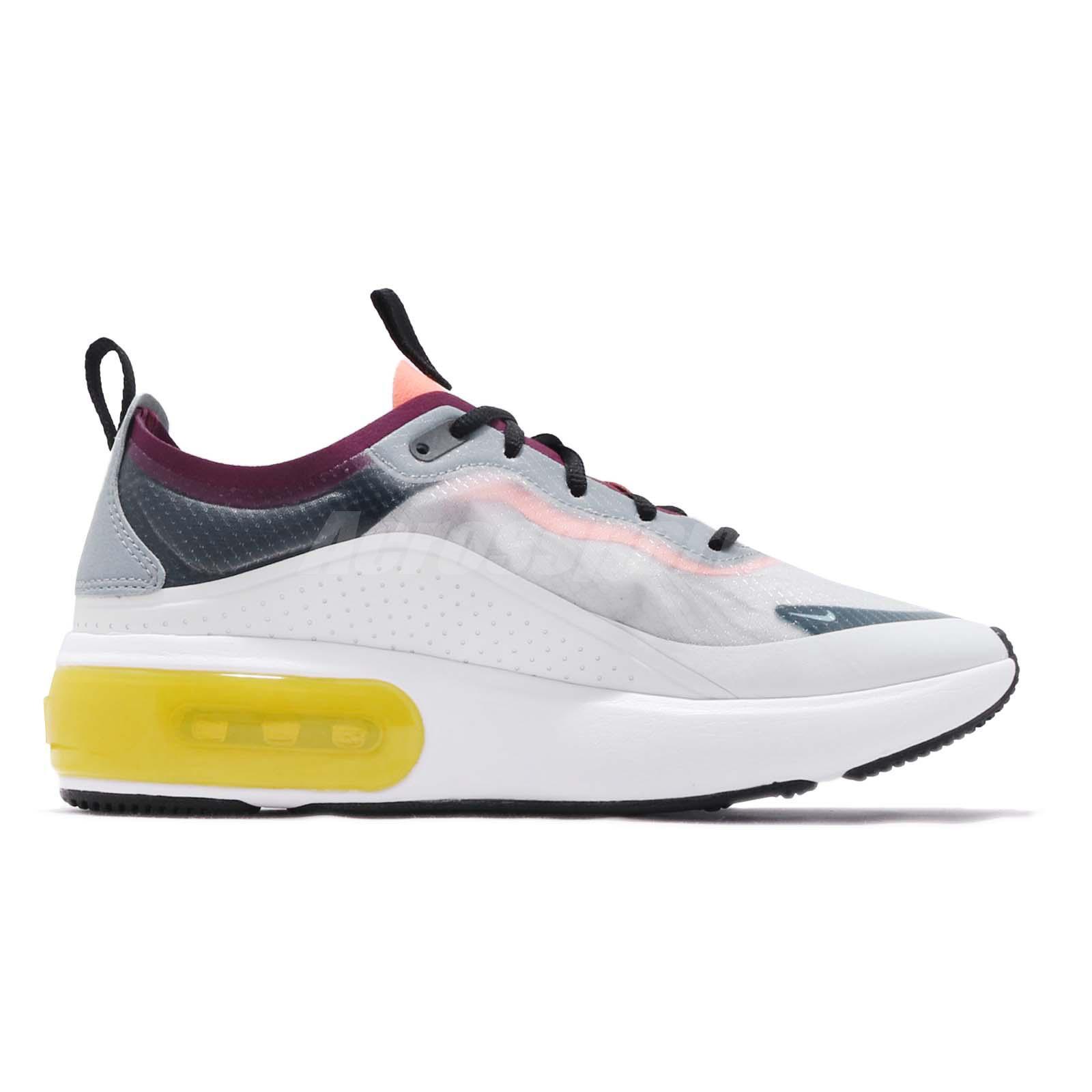 the best attitude 9dd93 85605 Nike Wmns Air Max DIA SE QS Grey Yellow White Women Running Shoes ...