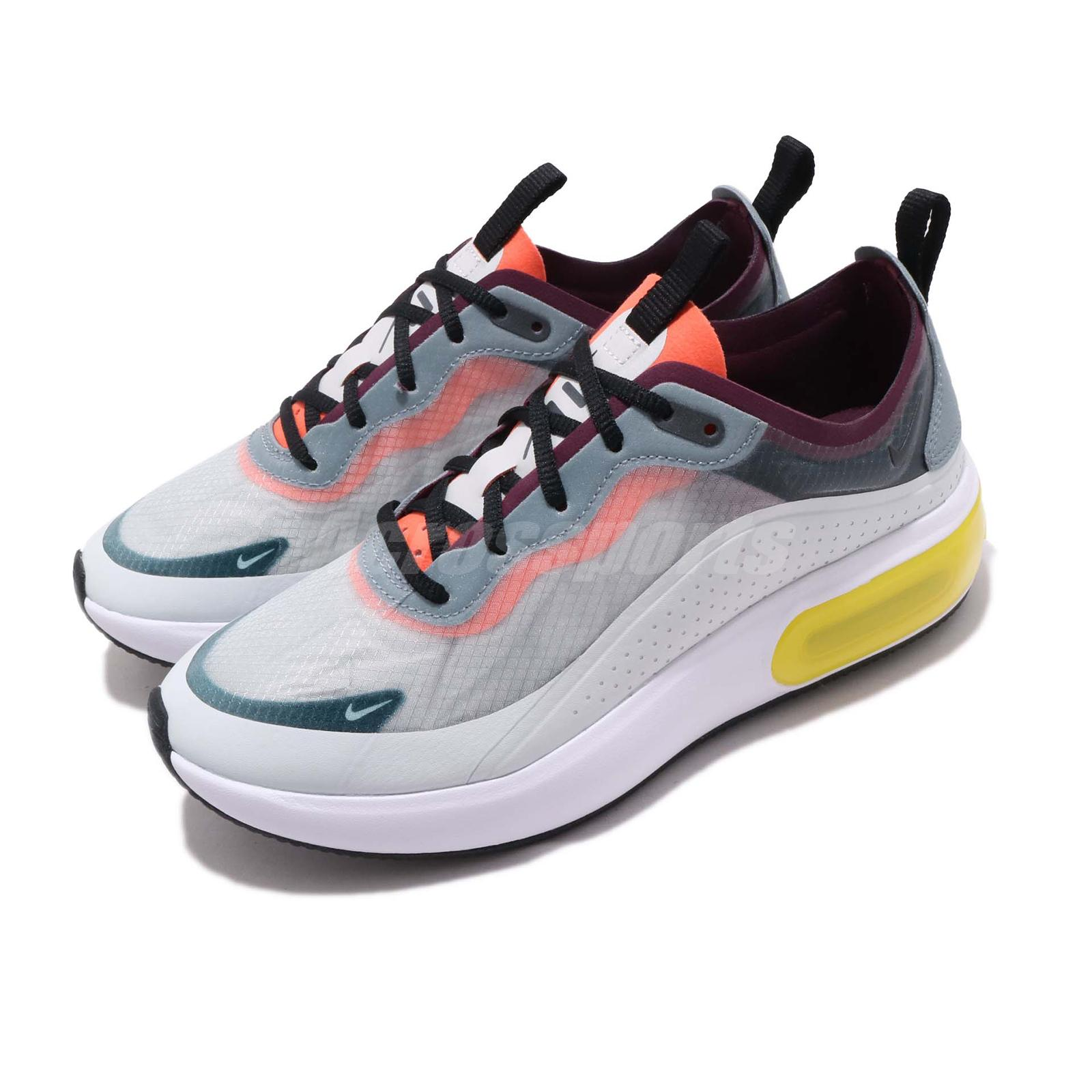 pick up 3dd6d 3d8d0 Details about Nike Wmns Air Max DIA SE QS Grey Yellow White Women Running  Shoes AV4146-001