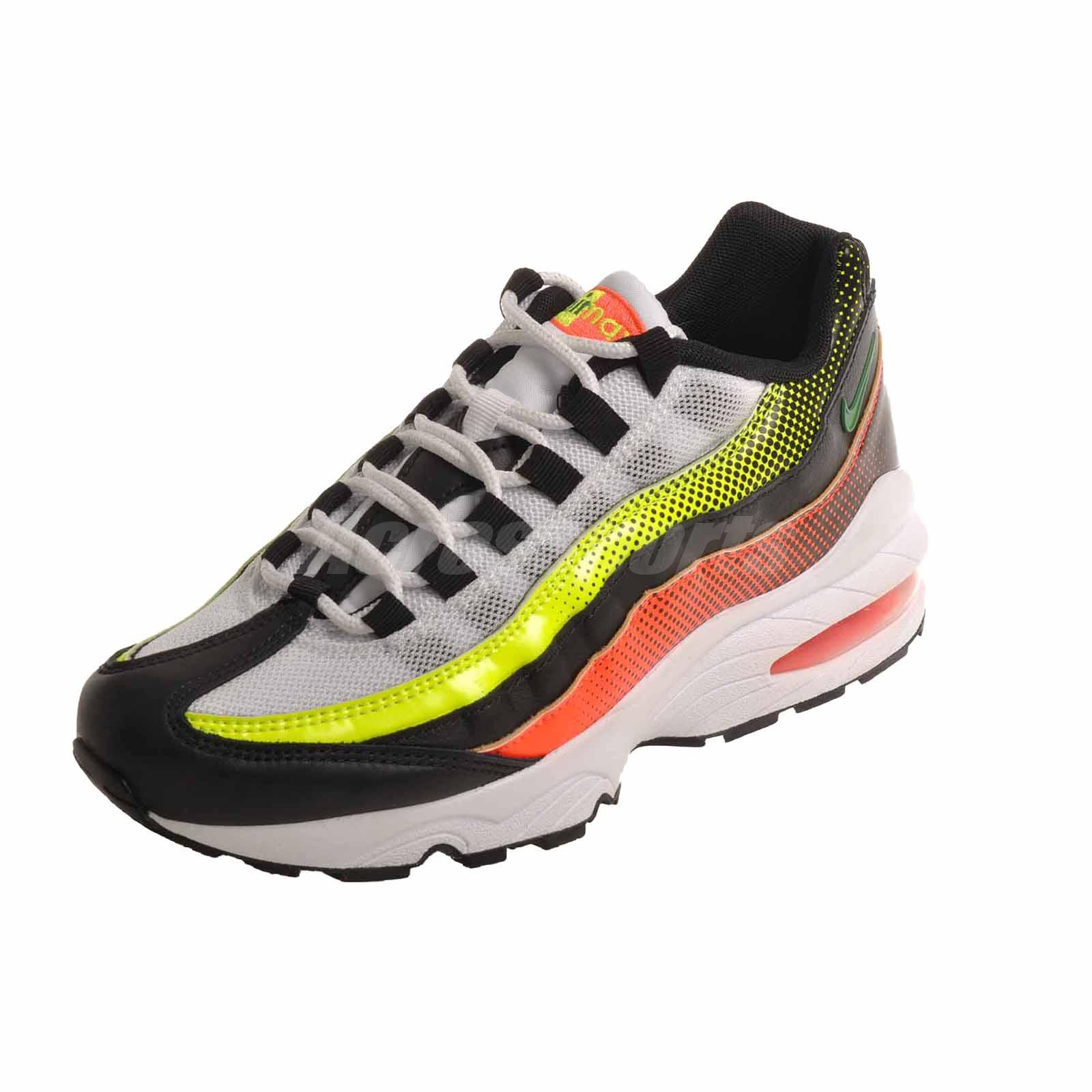 designer fashion ebe8d 2763b Details about Nike Air Max 95 RF GS Running Kids Youth Shoes Black Aloe  AV5138-001