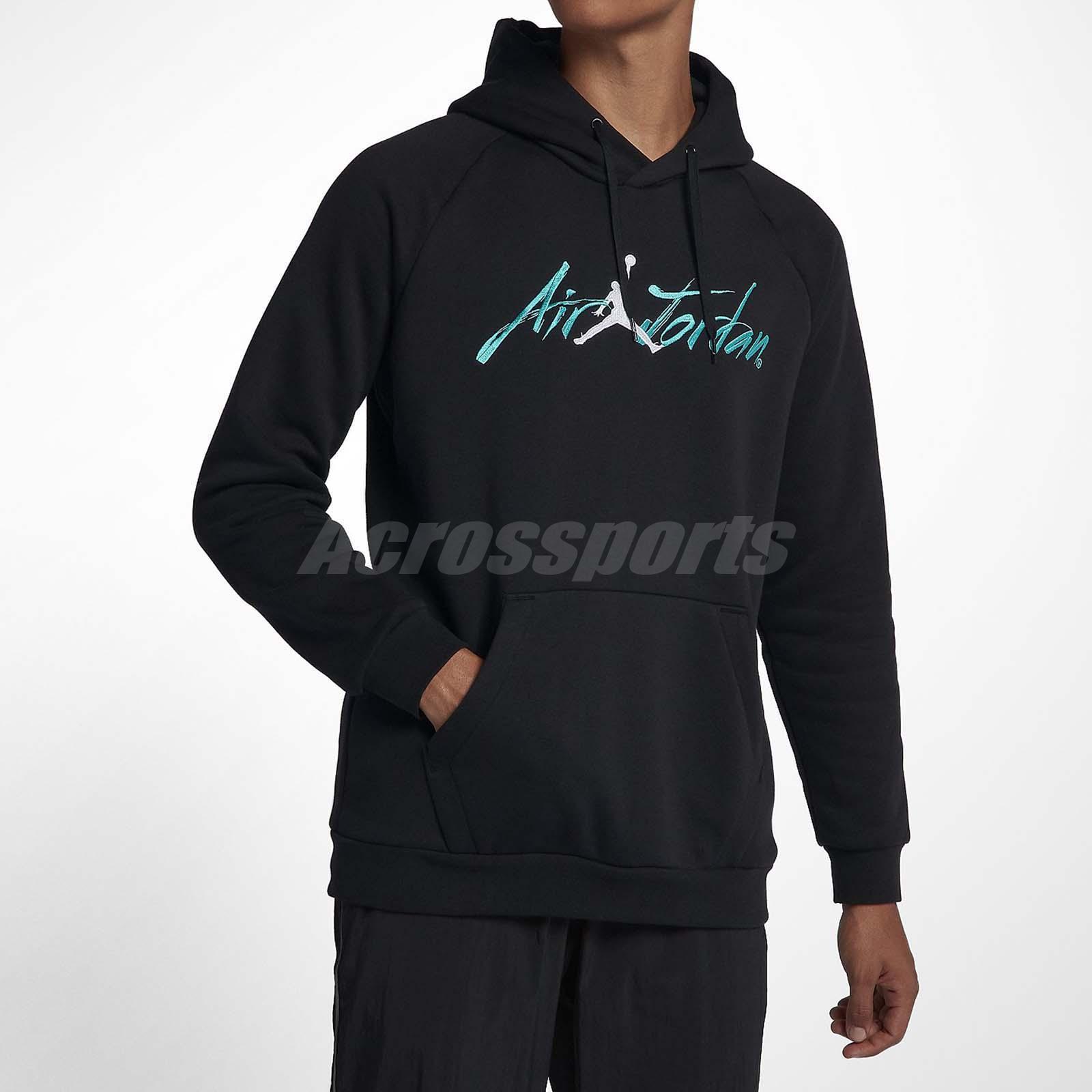 3de1643506c7 Details about Nike Air Jordan Greatest Jumpman Pullover Hoodie Fleece  Sports Black AV6006-010