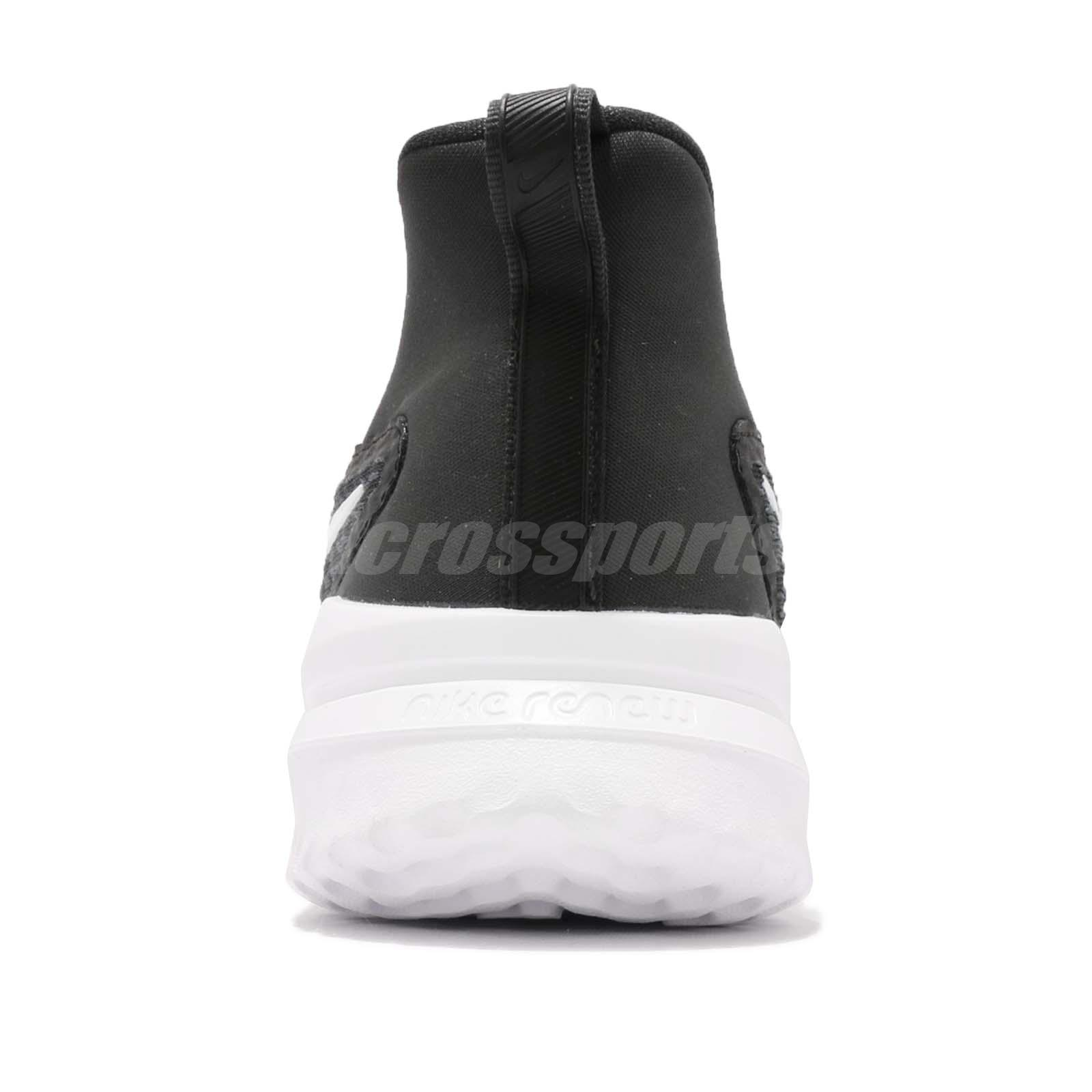 d470da53c3d Nike Renew Rival 2E Wide Black White Mens Running Shoes Lifestyle ...