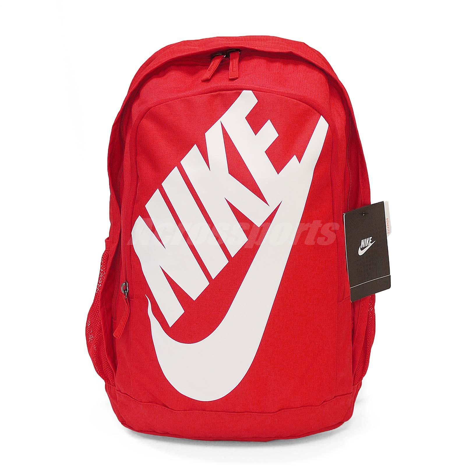 877e88f2f91f Nike Sportswear Hayward Futura M 2.0 Red White Unisex Backpack Bag ...