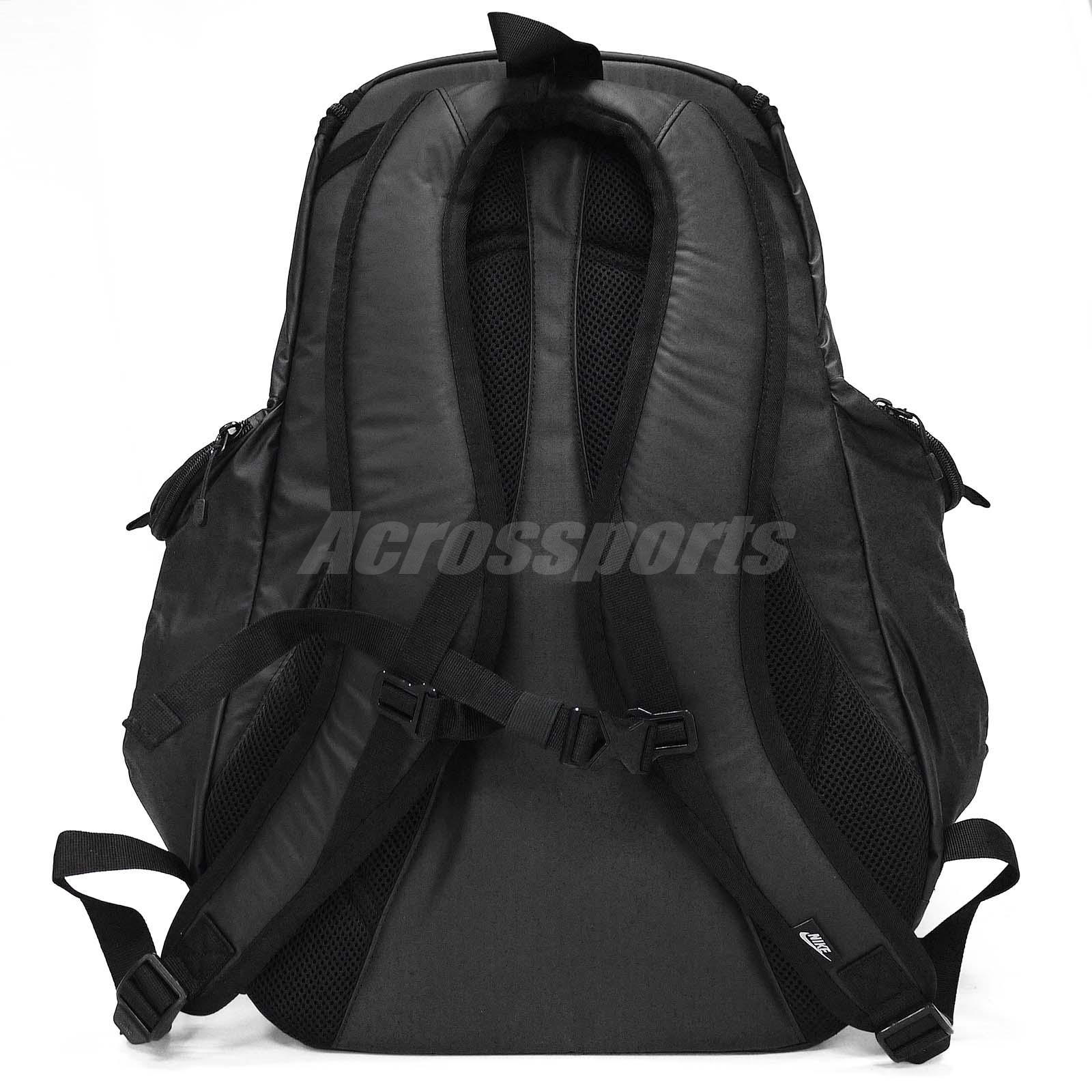 ... size 40 9c78e 75440 Nike Cheyenne Responder Black Mens Sports Travel  Backpack BP ... 2e726c5617
