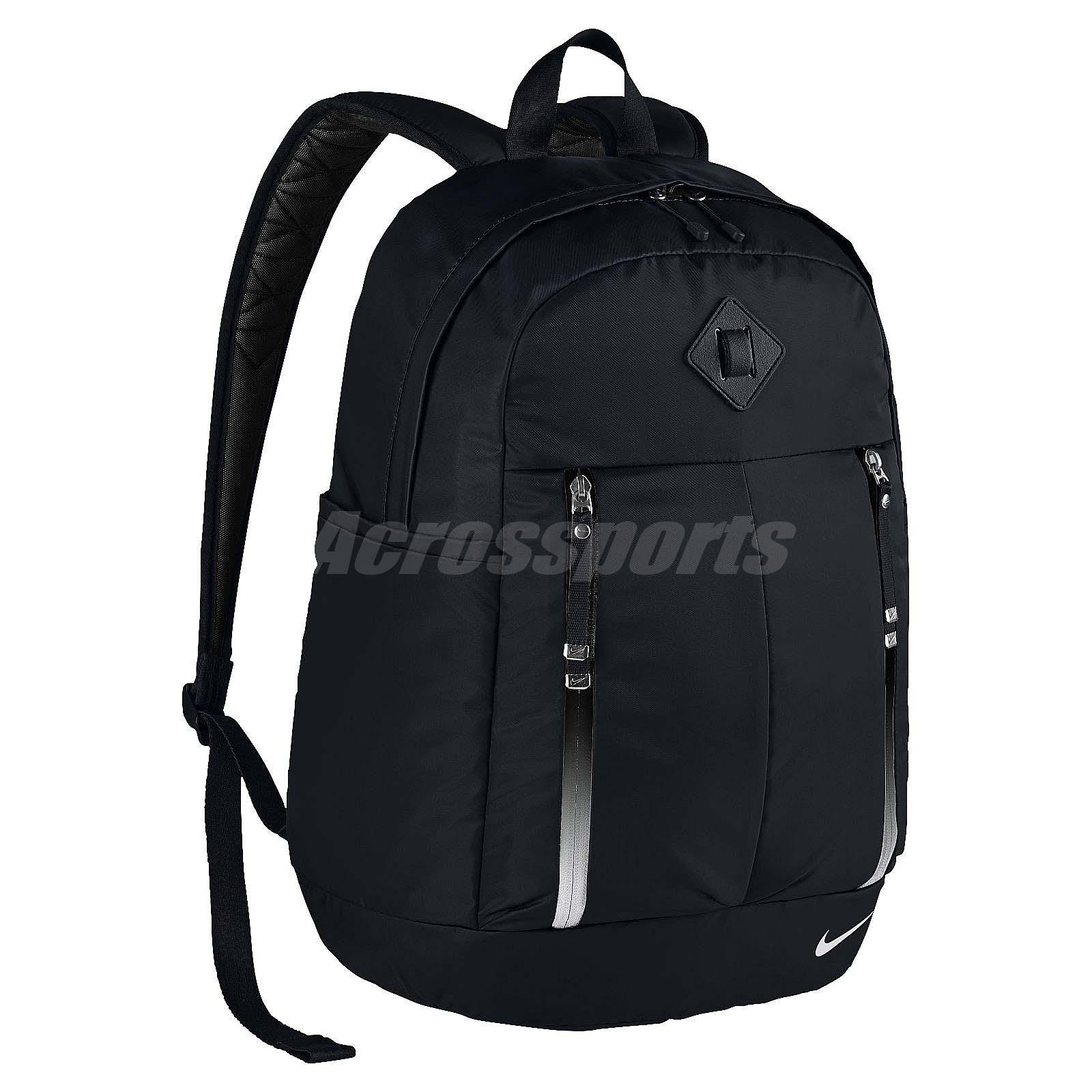 0b36869ab633 Details about Nike Auralux Black White Laptop Protect Training Backpack BP  Bag BA5241-010