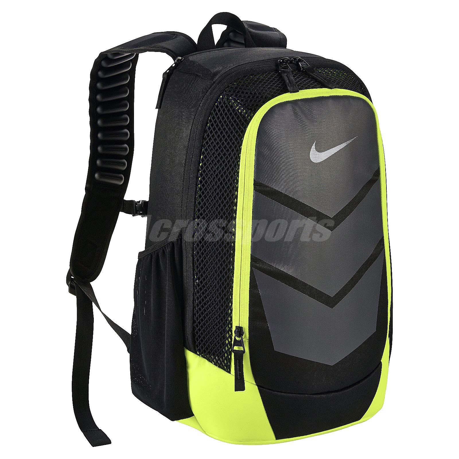 Nike Vapor Speed Black Green Gym School Mens Training Backpack BP Bag  BA5247-010