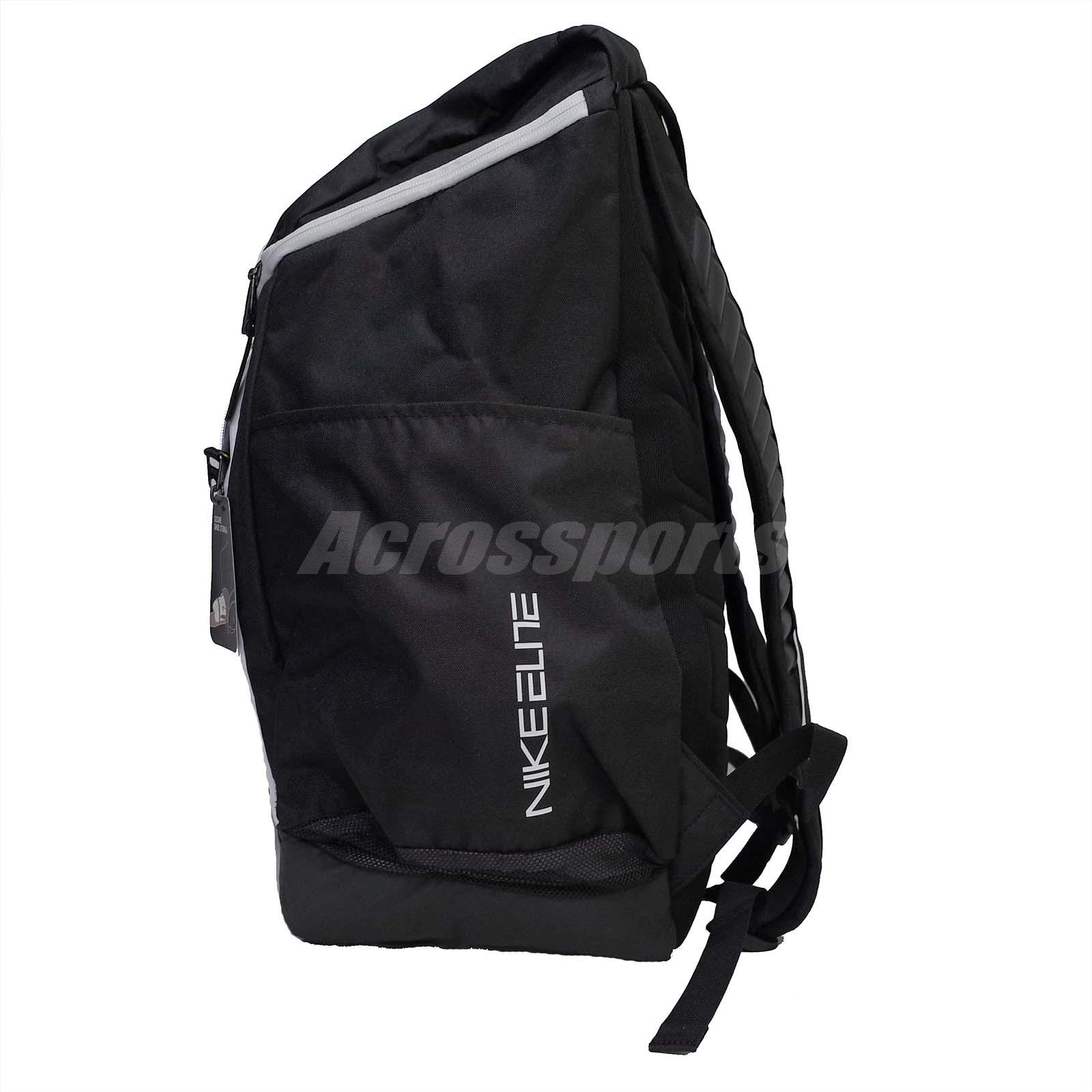 black nike elite backpack