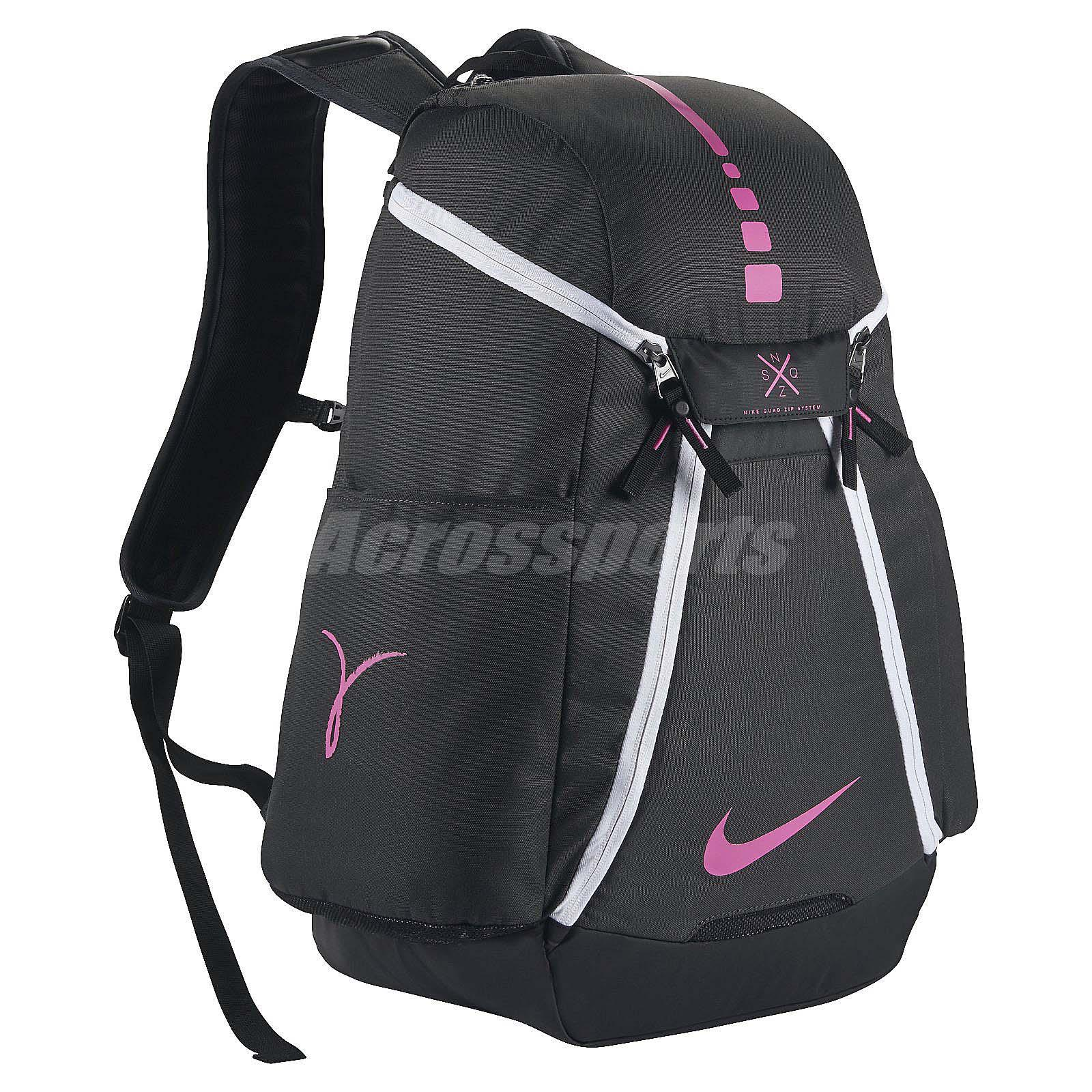 Nike Hoops Elite Max Air Backpack Kay Yow Breast Cancer ...