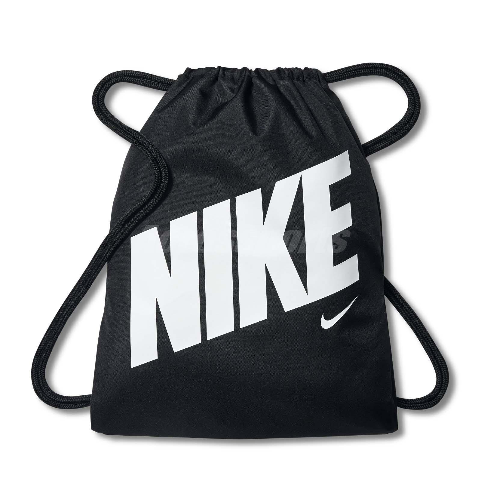 Details about Nike Unisex Young Athletes Gymsack Black White Bag Gym Sport  BA5262-015 2827e64bda8f5