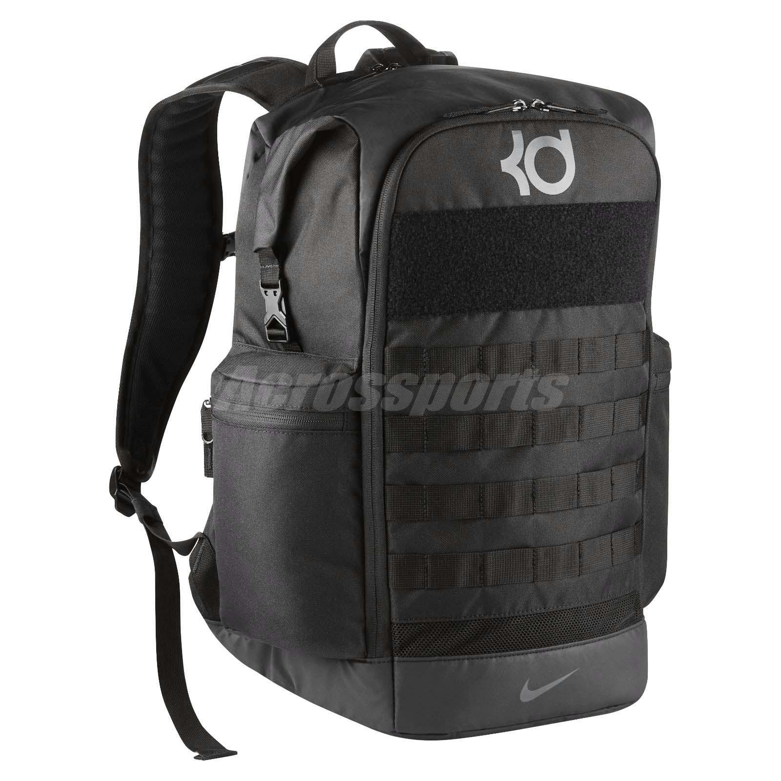 cd856470dabc Nike KD Trey 5 V Kevin Durant Black Grey Men Basketball Backpack Bag  BA5389-010