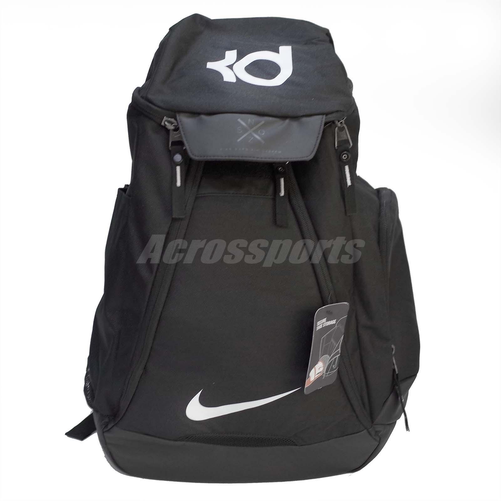 c84a1b33389ec Nike KD 8 V8 Backpack Kd Backpack: Nike KD Max Air Elite Kevin Durant Black  White Basketball